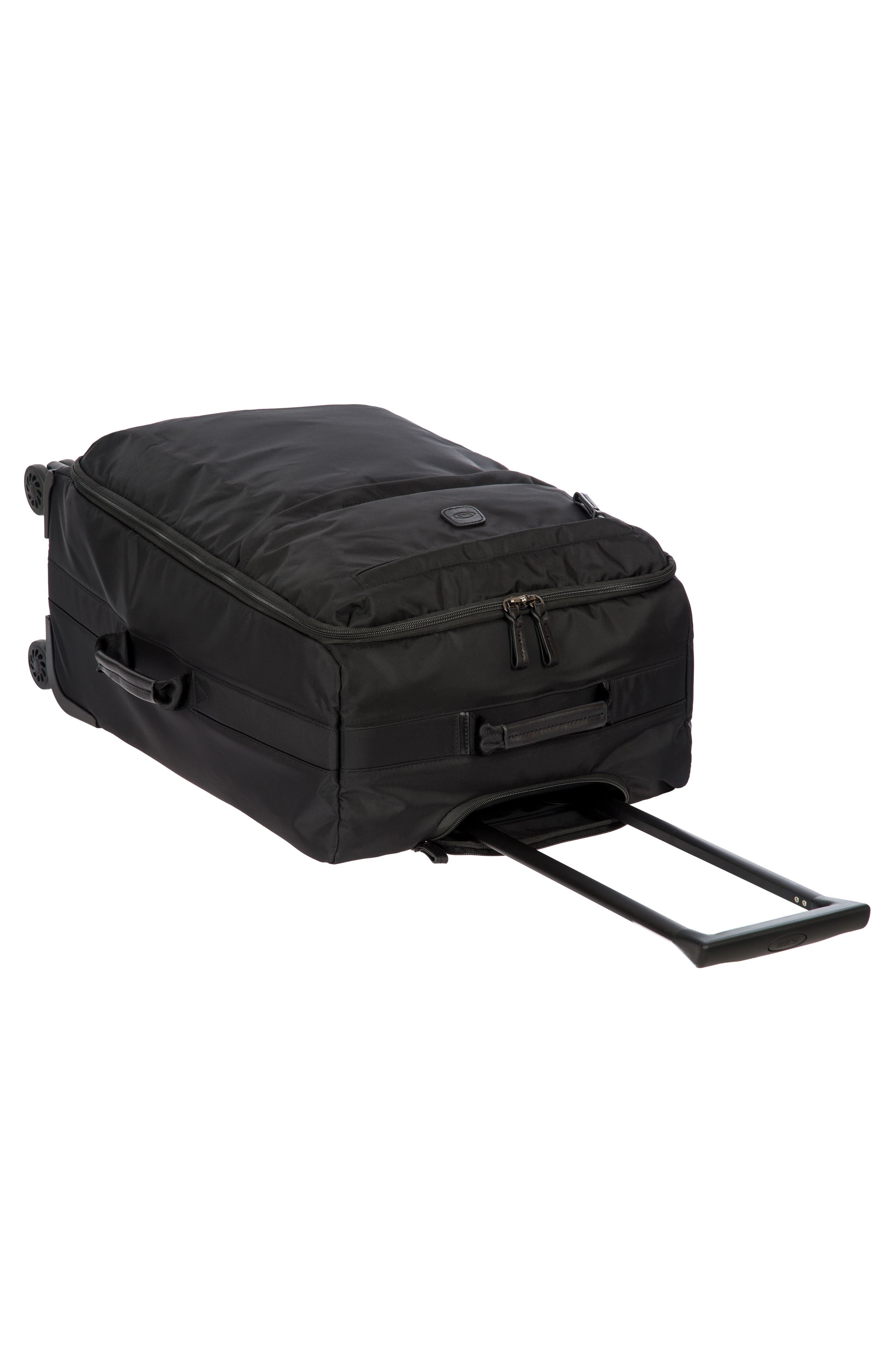 X-Bag 25-Inch Spinner Suitcase,                             Alternate thumbnail 4, color,                             Black/ Black