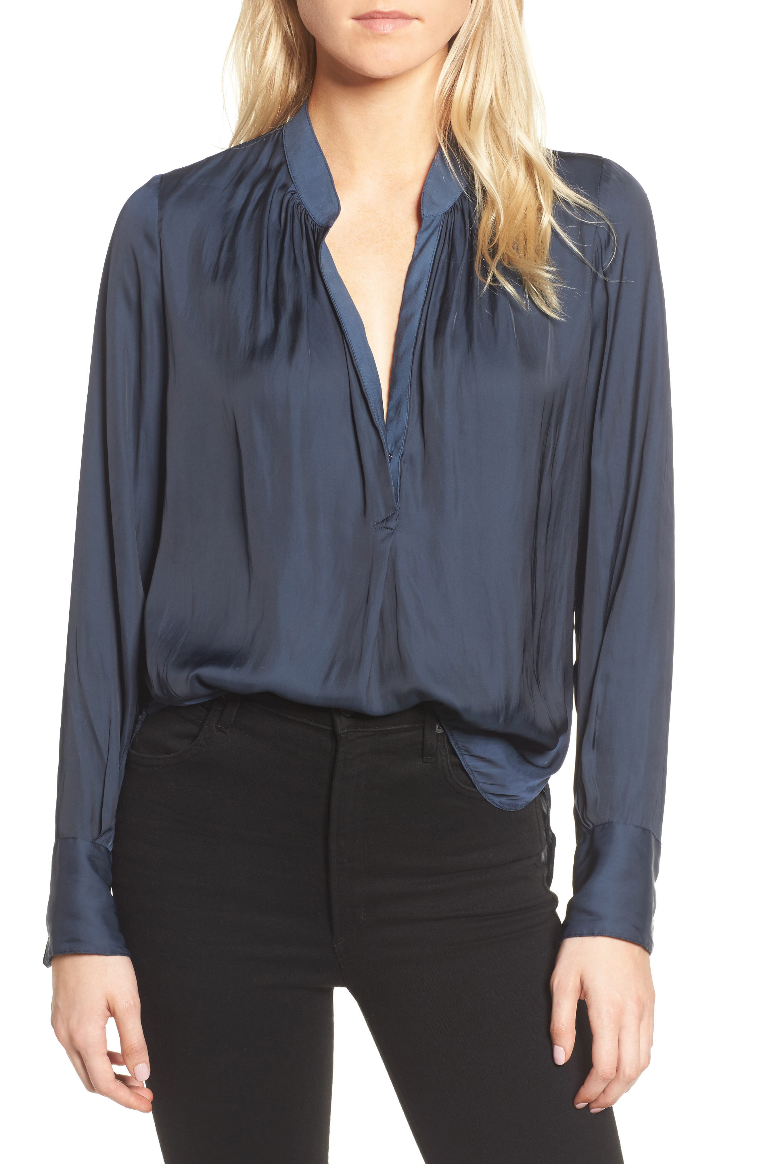Tink Blouse,                         Main,                         color, Marine