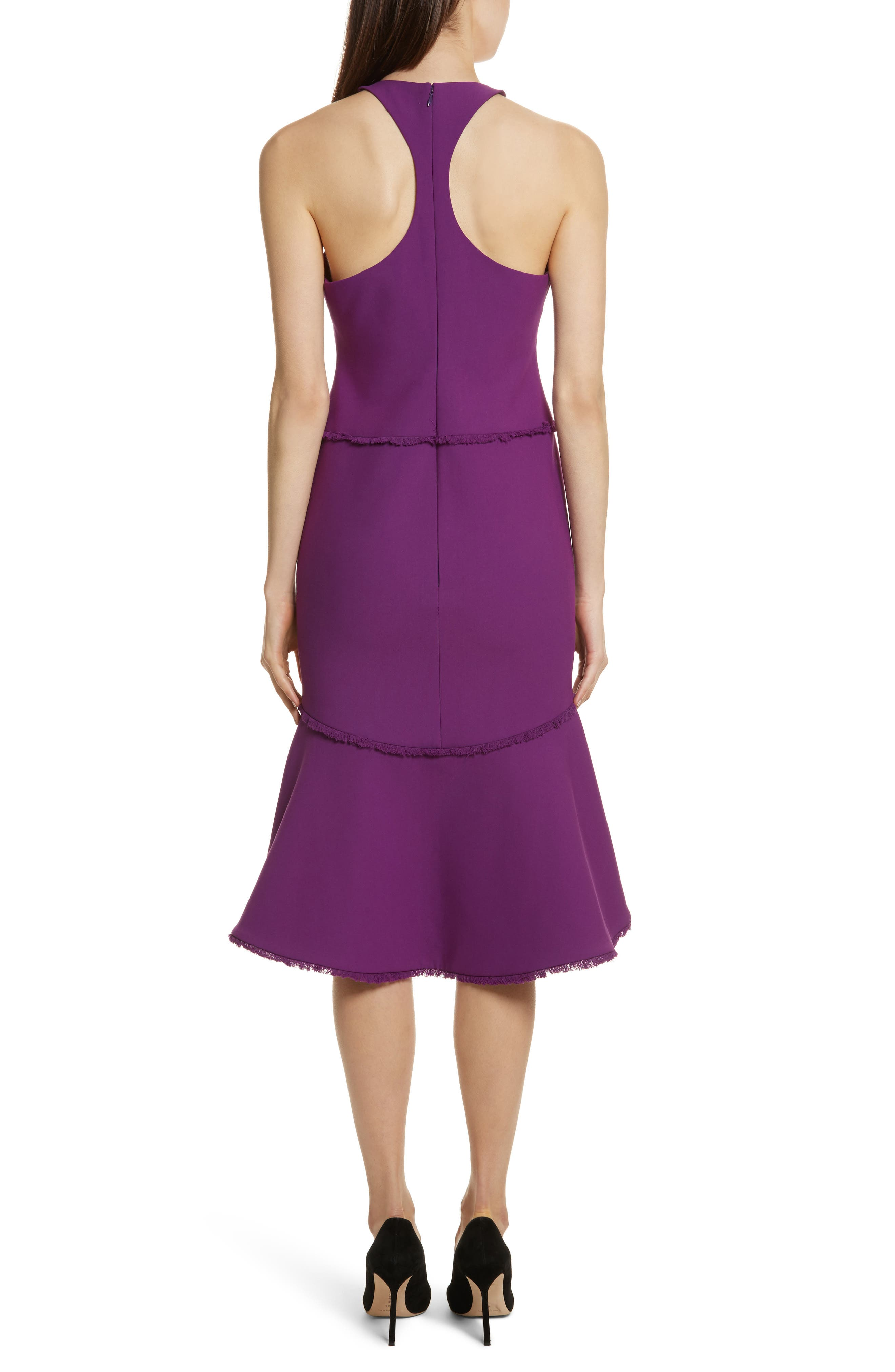 Dante Halter Dress,                             Alternate thumbnail 2, color,                             Amethyst