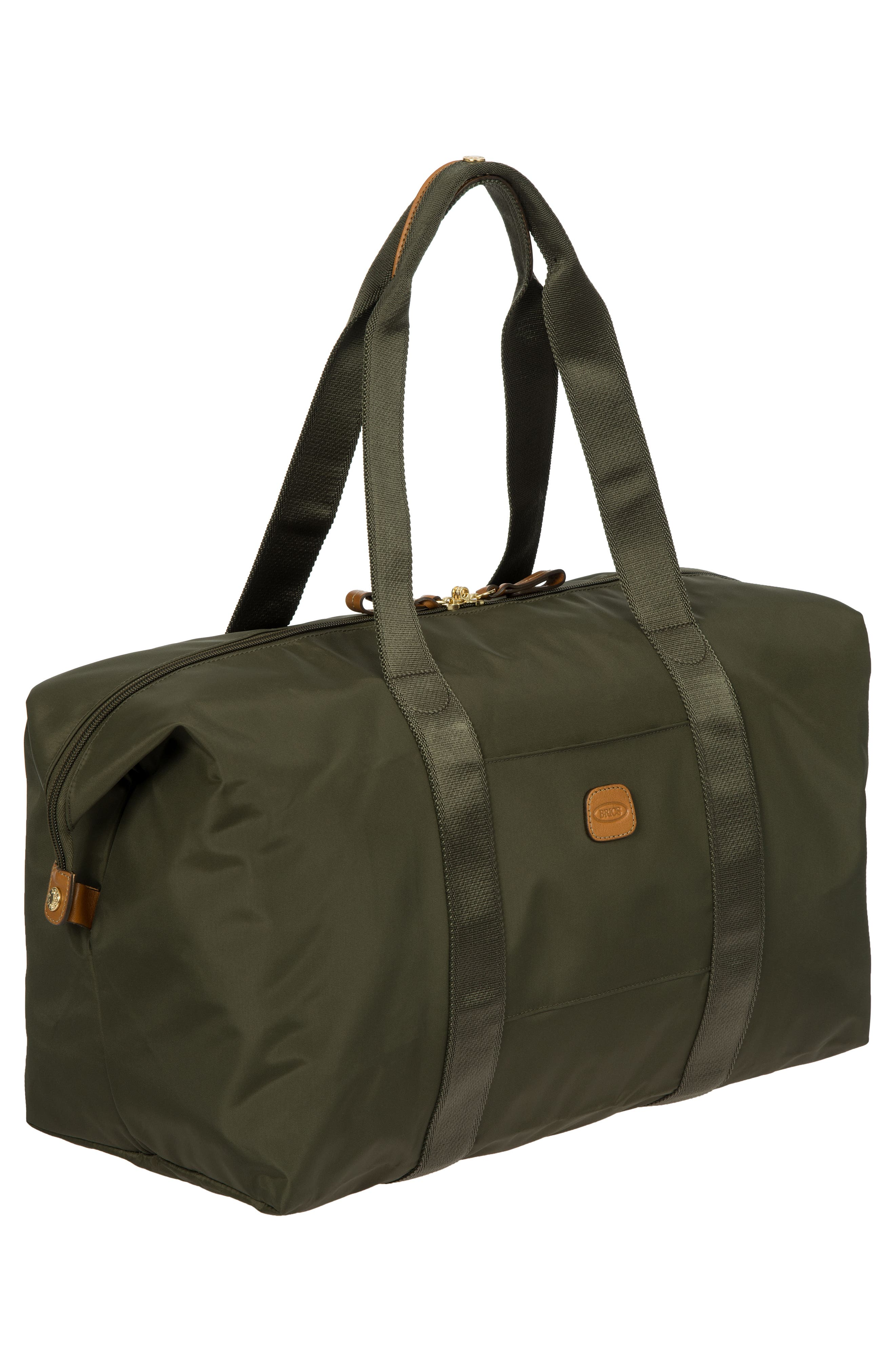 X-Bag 18-Inch Folding Duffel Bag,                             Alternate thumbnail 6, color,                             Olive