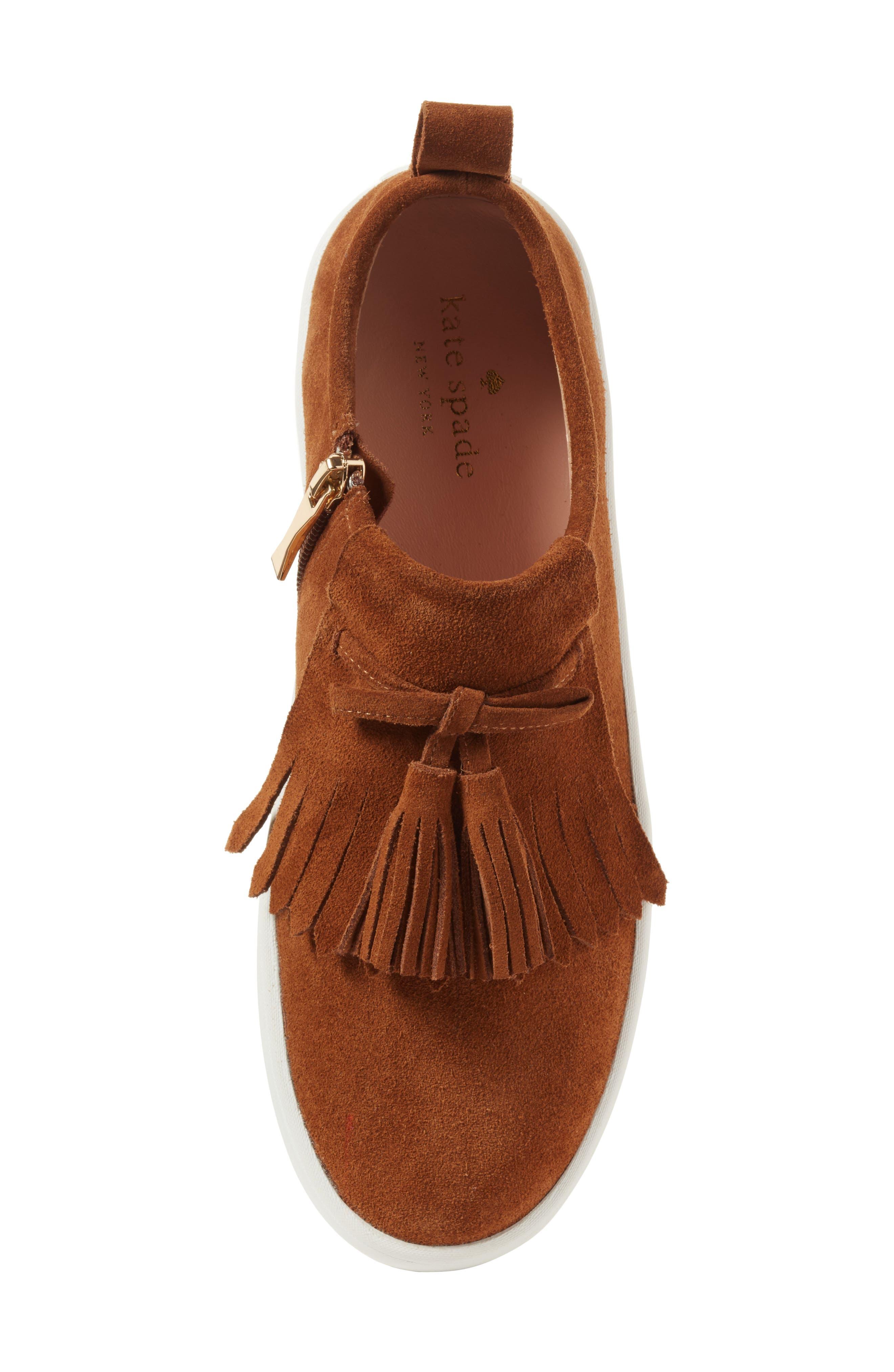 Alternate Image 5  - kate spade new york lenna tassel sneaker (Women)