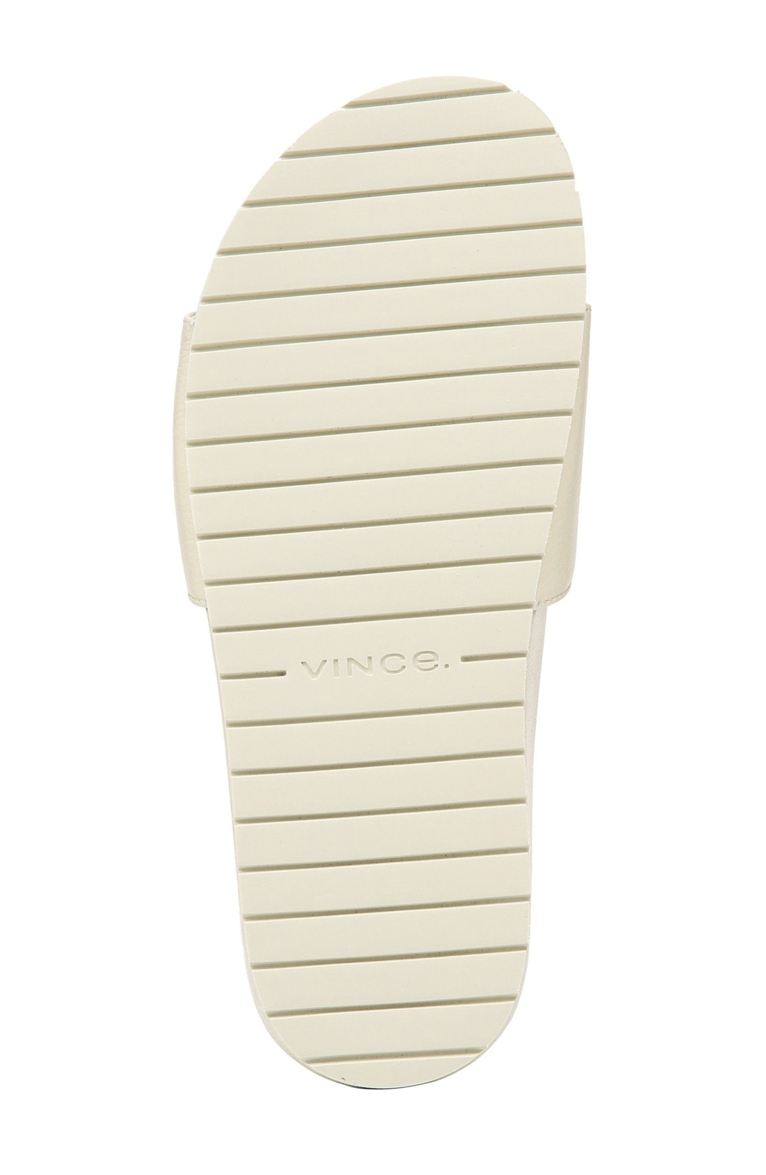 Gavin Slide Sandal,                             Alternate thumbnail 7, color,                             Ecru