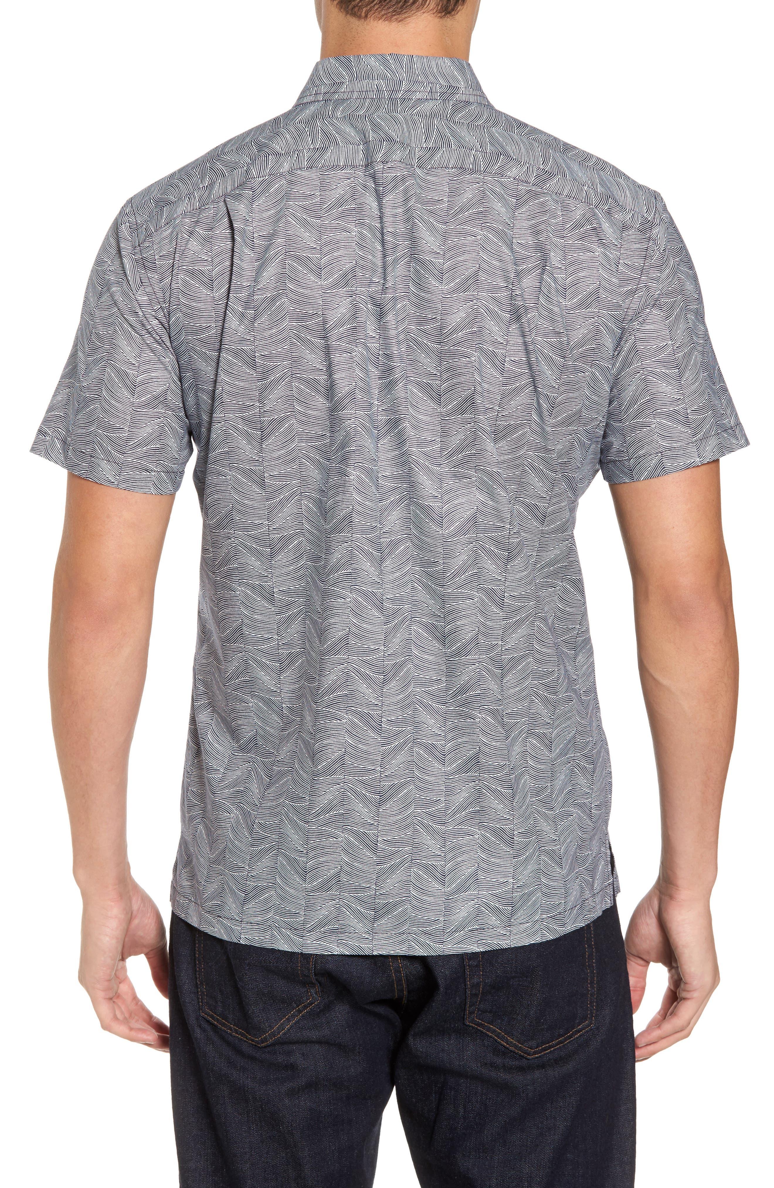 Alternate Image 2  - Tori Richard Vertigo Trim Fit Print Sport Shirt
