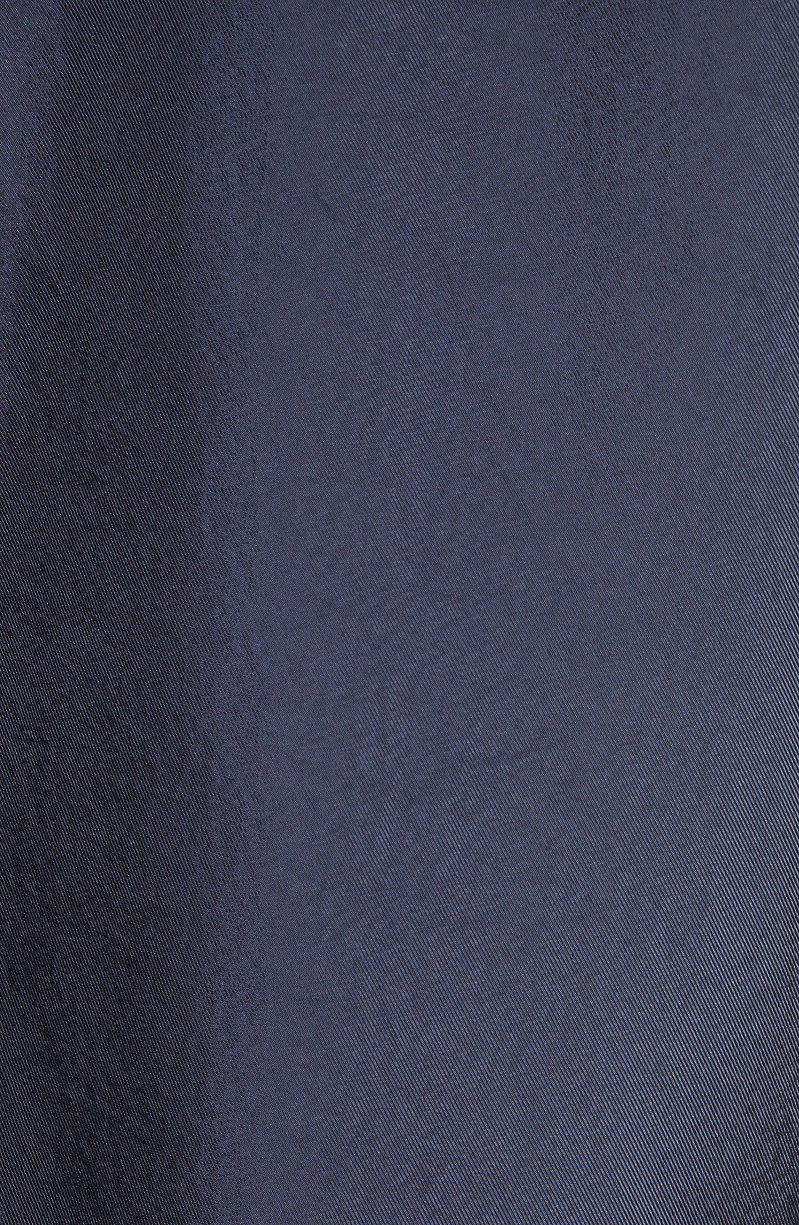 Hooded Jacket,                             Alternate thumbnail 5, color,                             Navy Multi