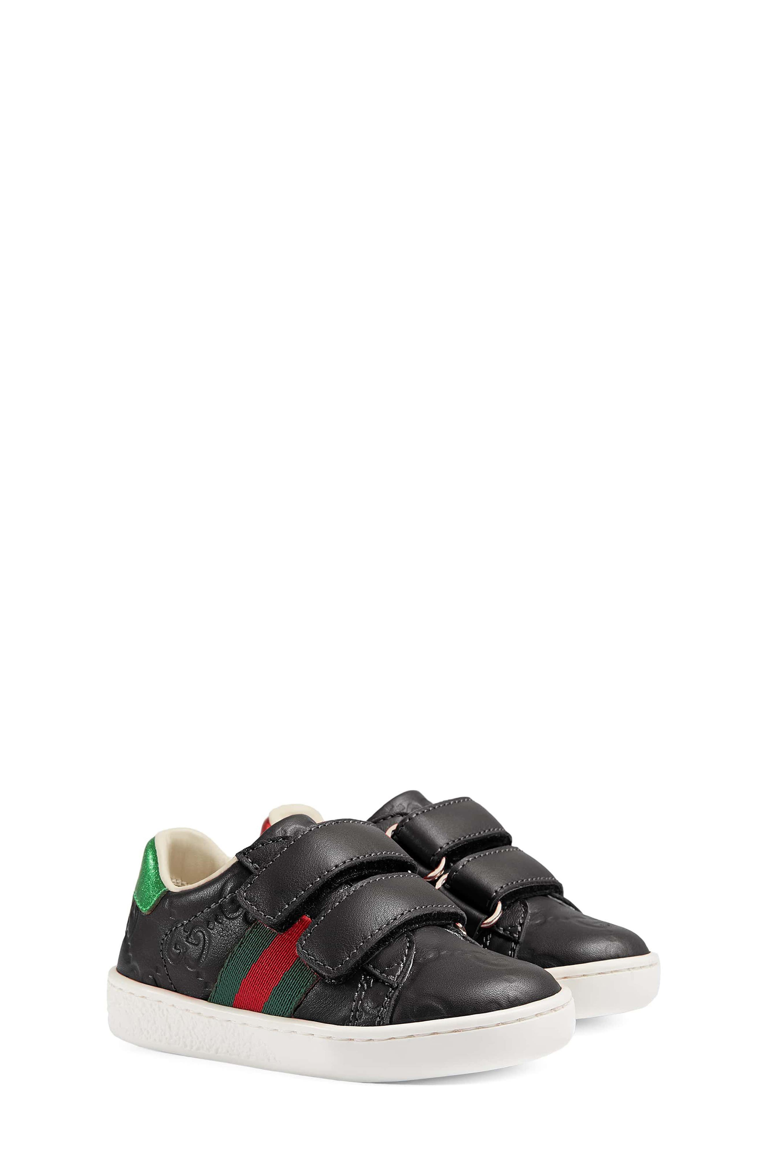 Gucci New Ace Sneaker (Baby, Walker & Toddler)