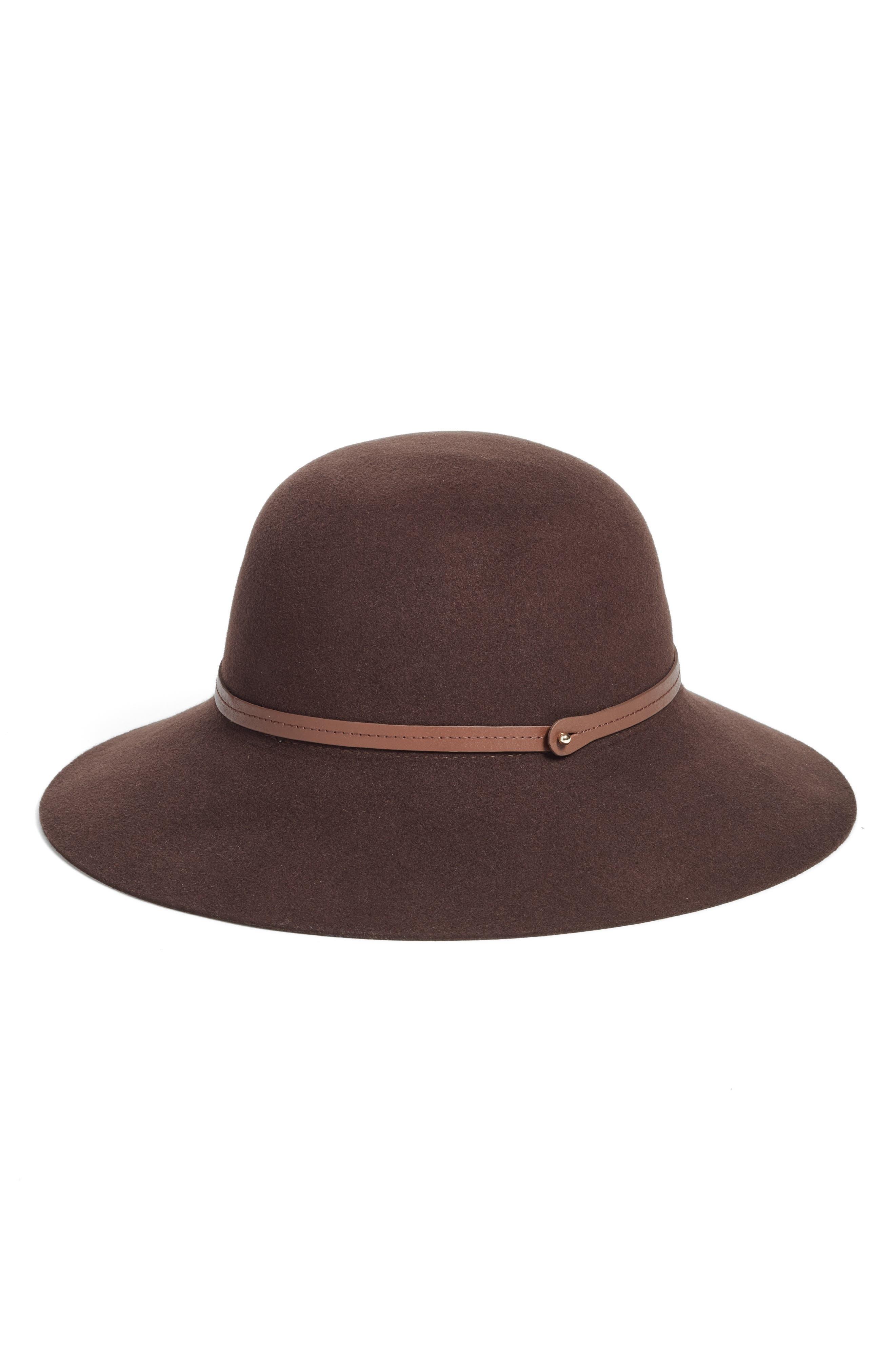 Alternate Image 2  - Helen Kaminski Angled Brim Wool Felt Hat