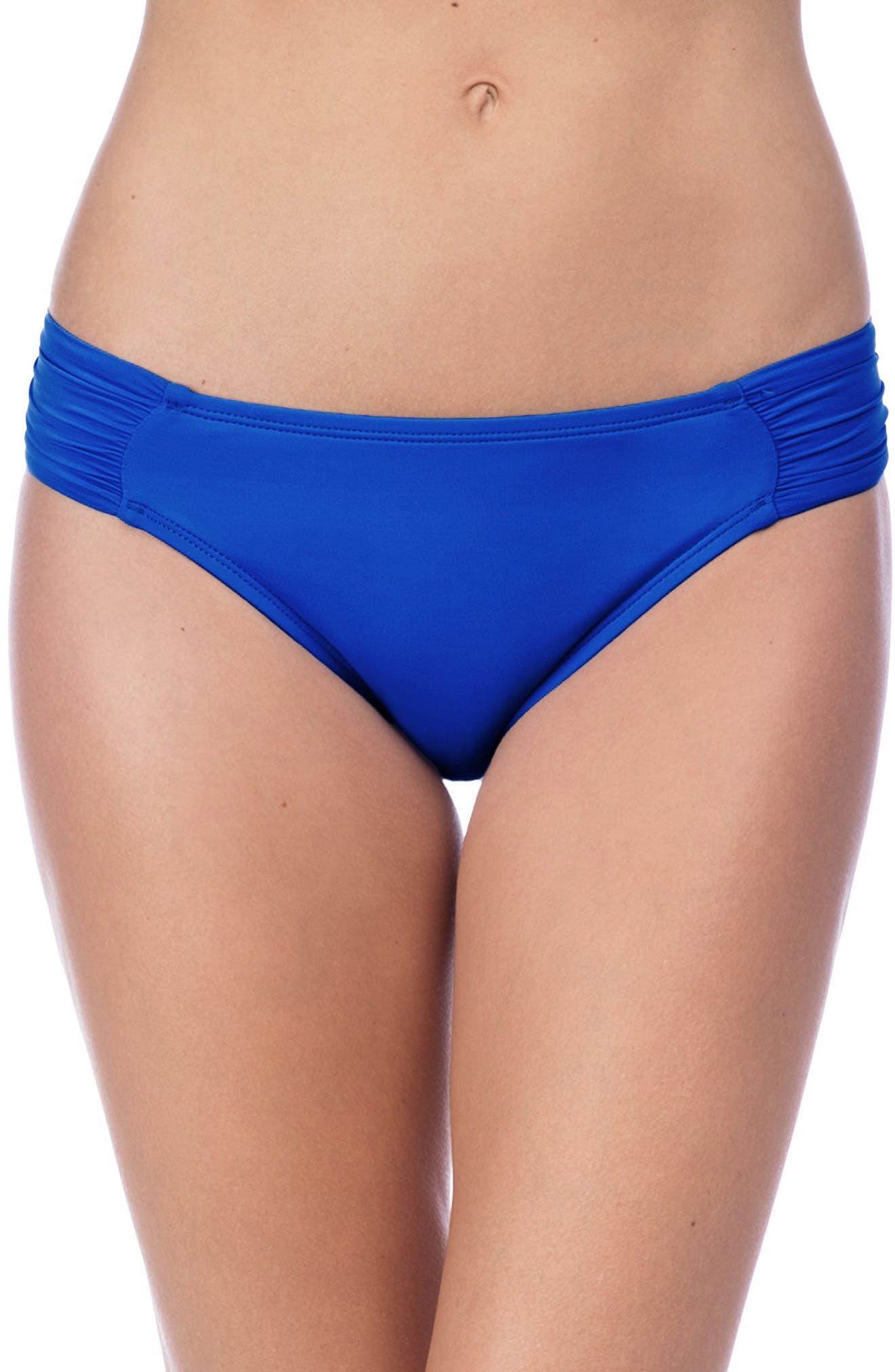 Alternate Image 1 Selected - La Blanca Island Goddess Hipster Bikini Bottoms
