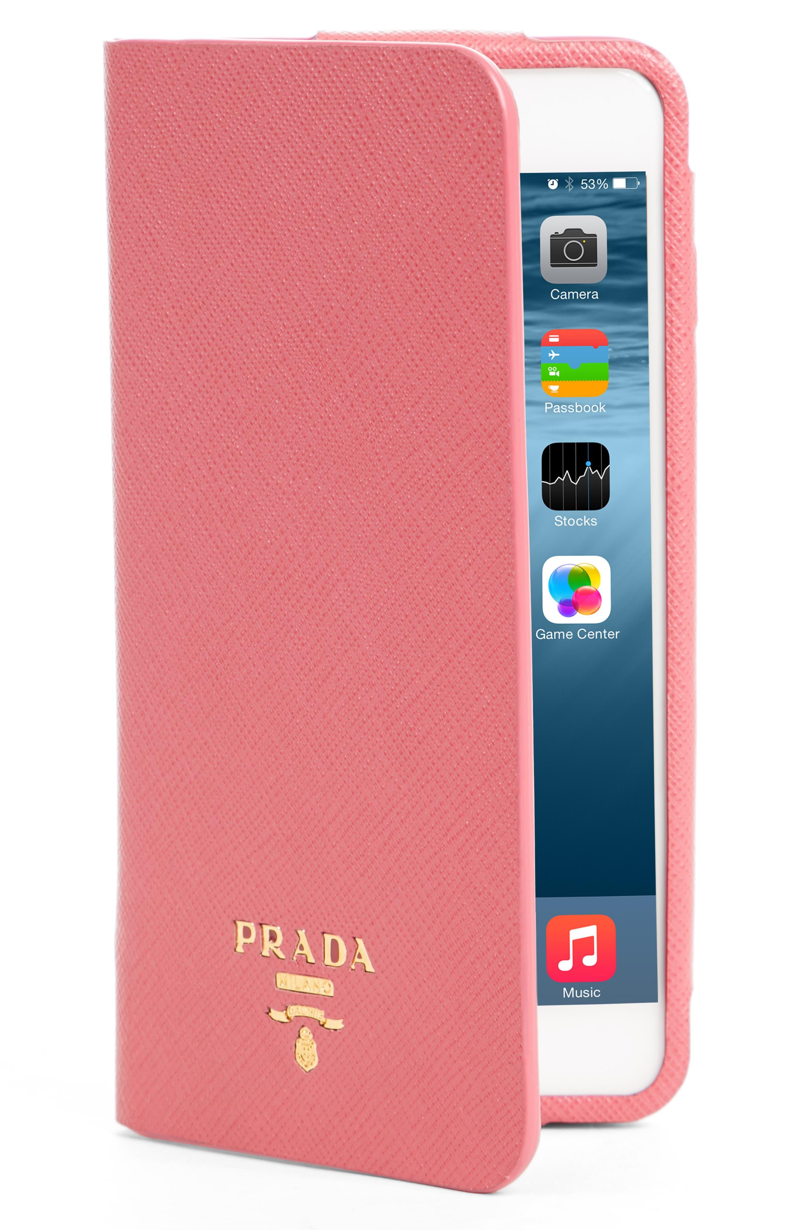 online retailer 53890 daba5 greece prada phone wallet 5cf4a a1f67