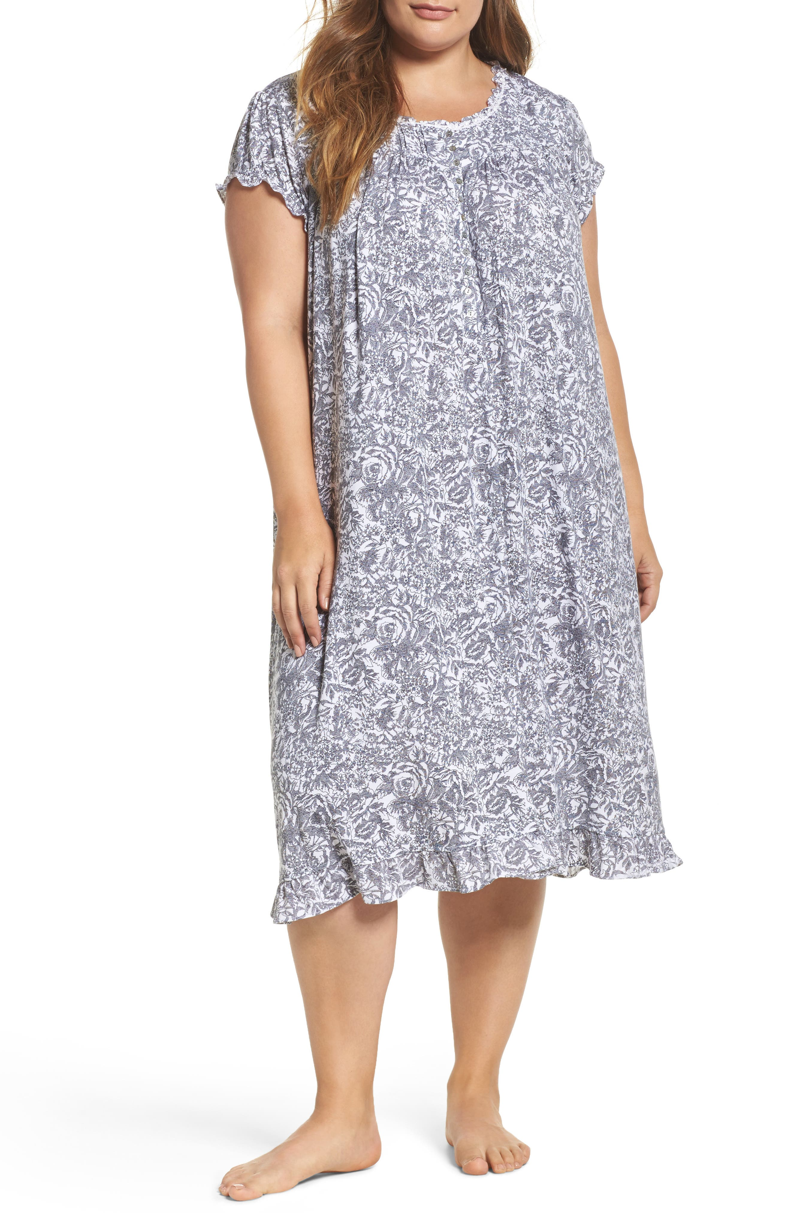 Eileen West Waltz Nightgown (Plus Size)