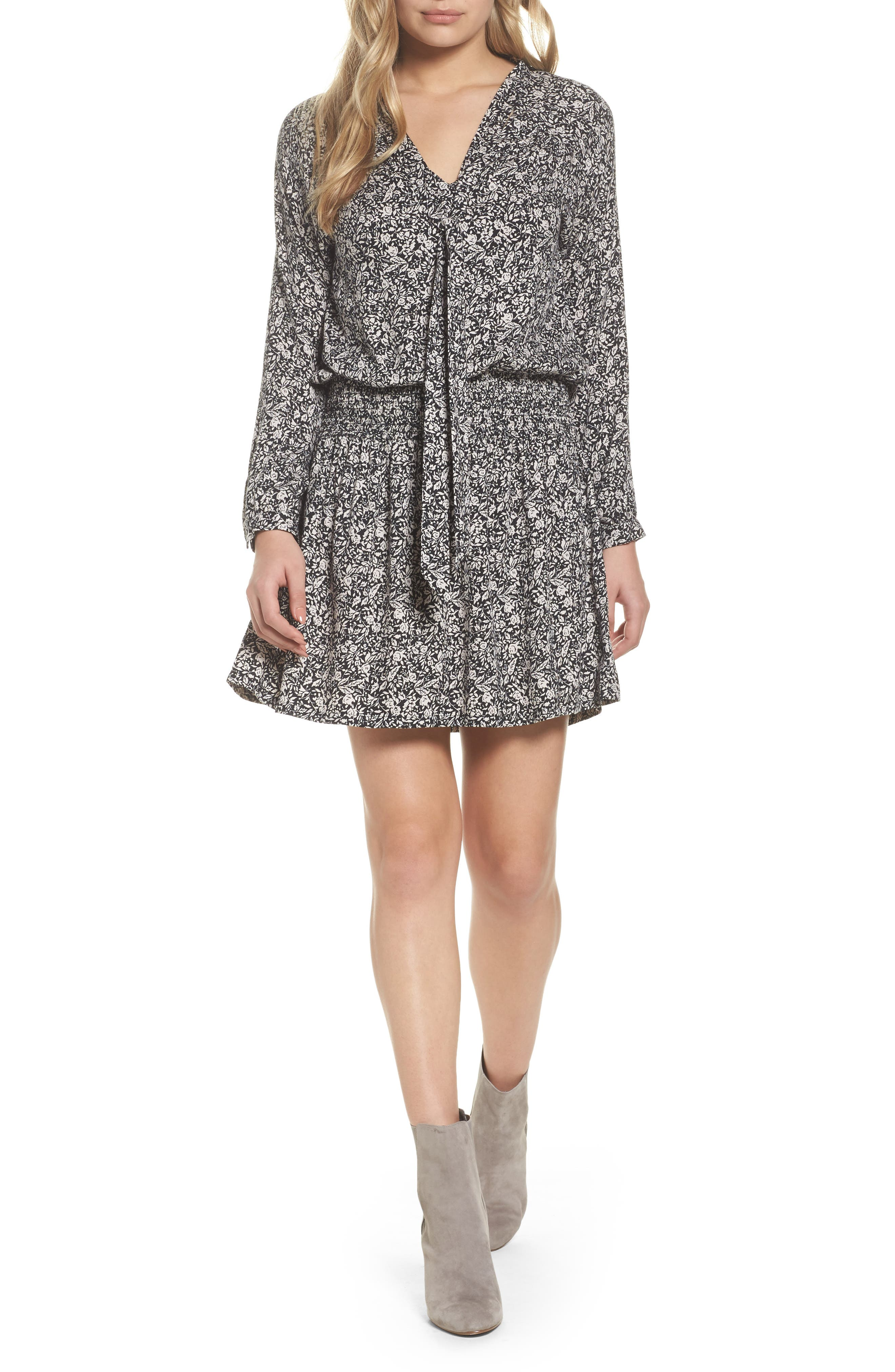 Main Image - Knot Sisters Ivy Blouson Dress