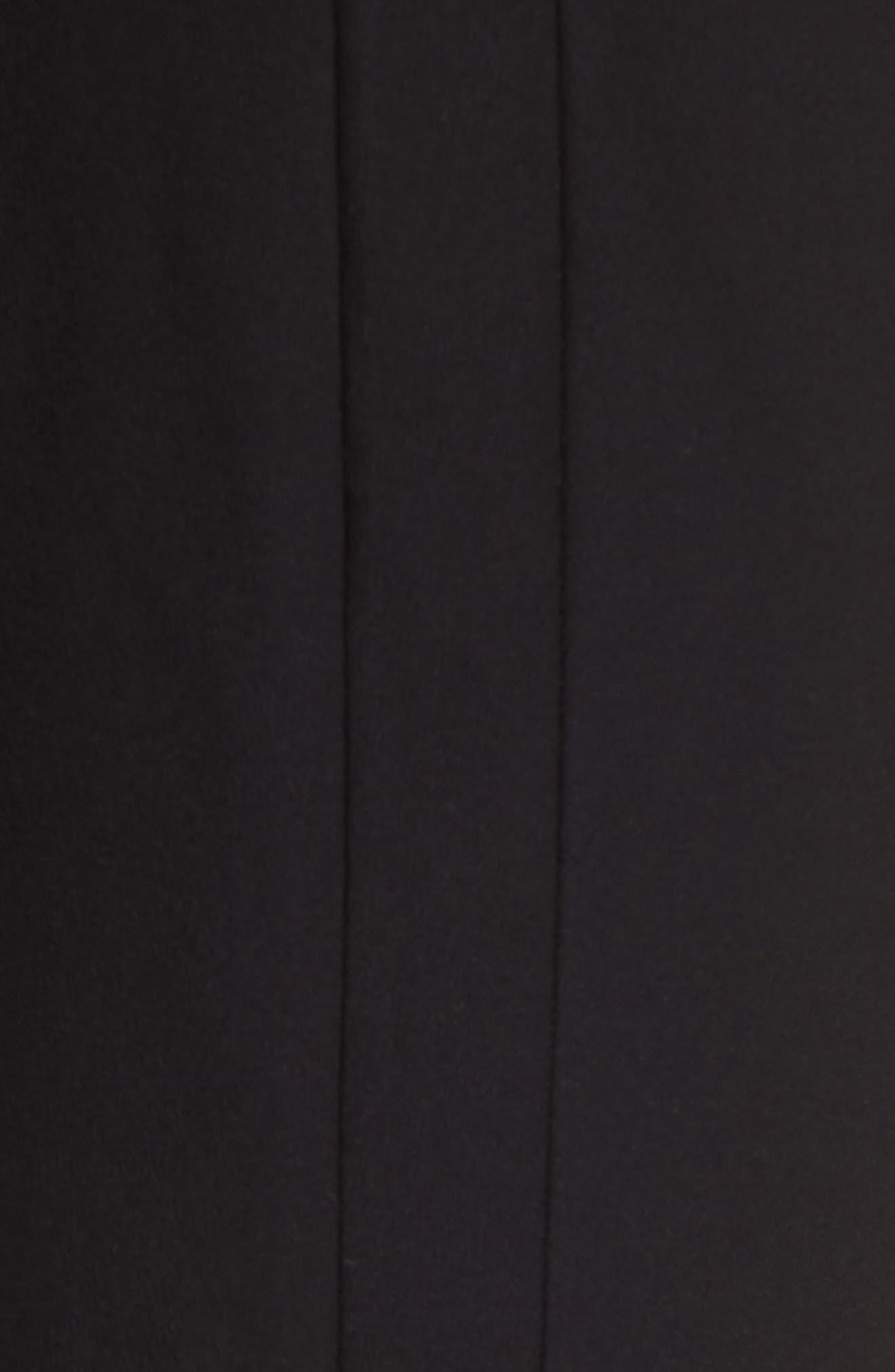 Bootcut Crop Pants,                             Alternate thumbnail 6, color,                             Black