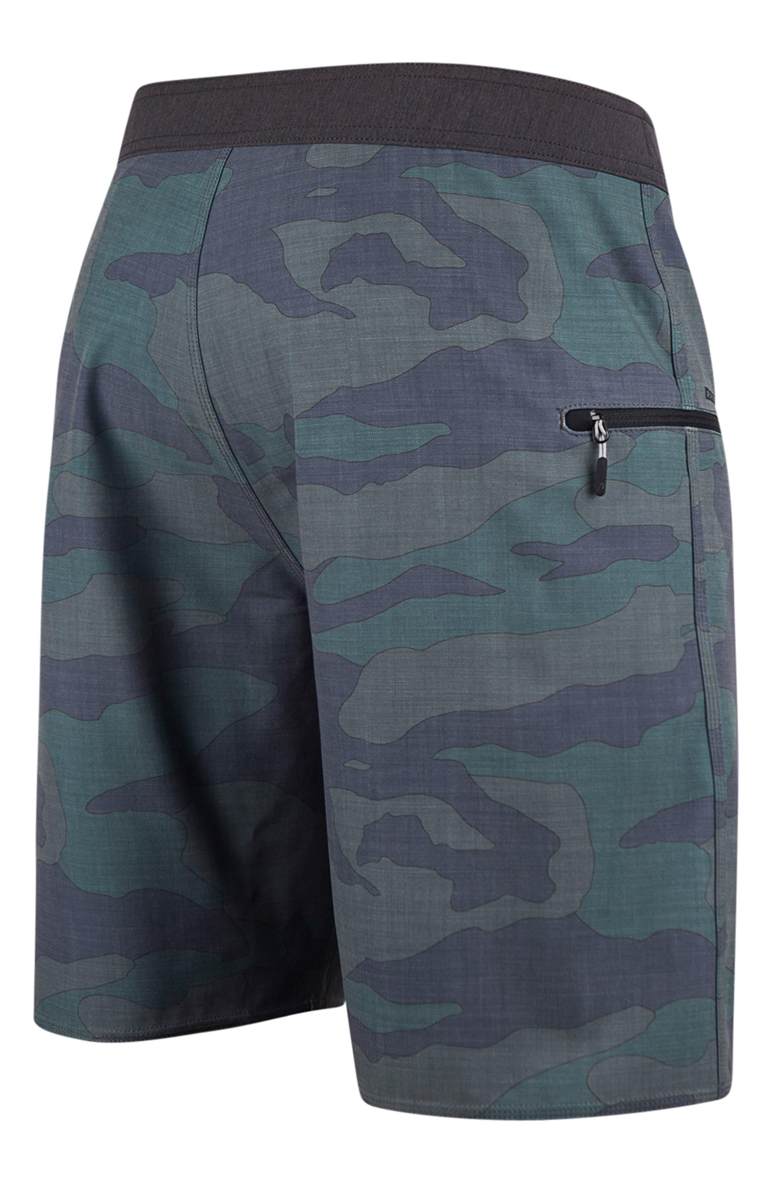 Mirage Backyard Board Shorts,                             Alternate thumbnail 2, color,                             Camo