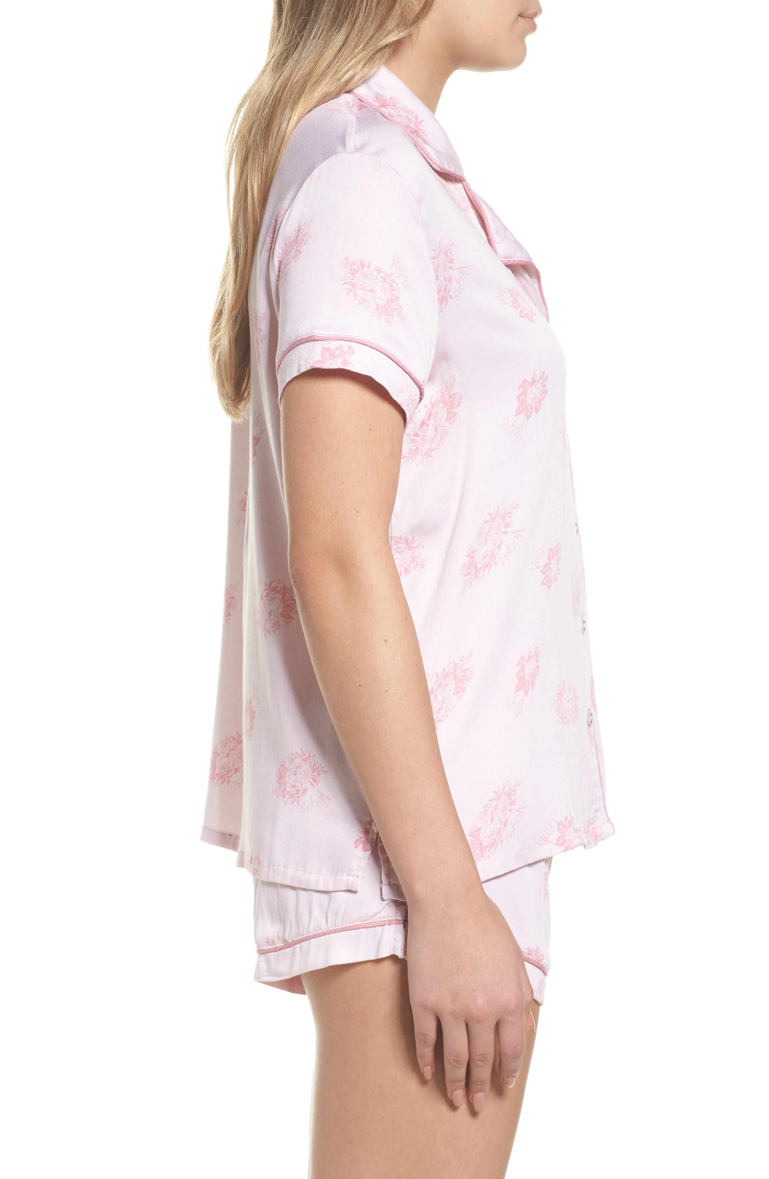 Alternate Image 3  - Splendid Shortie Pajamas