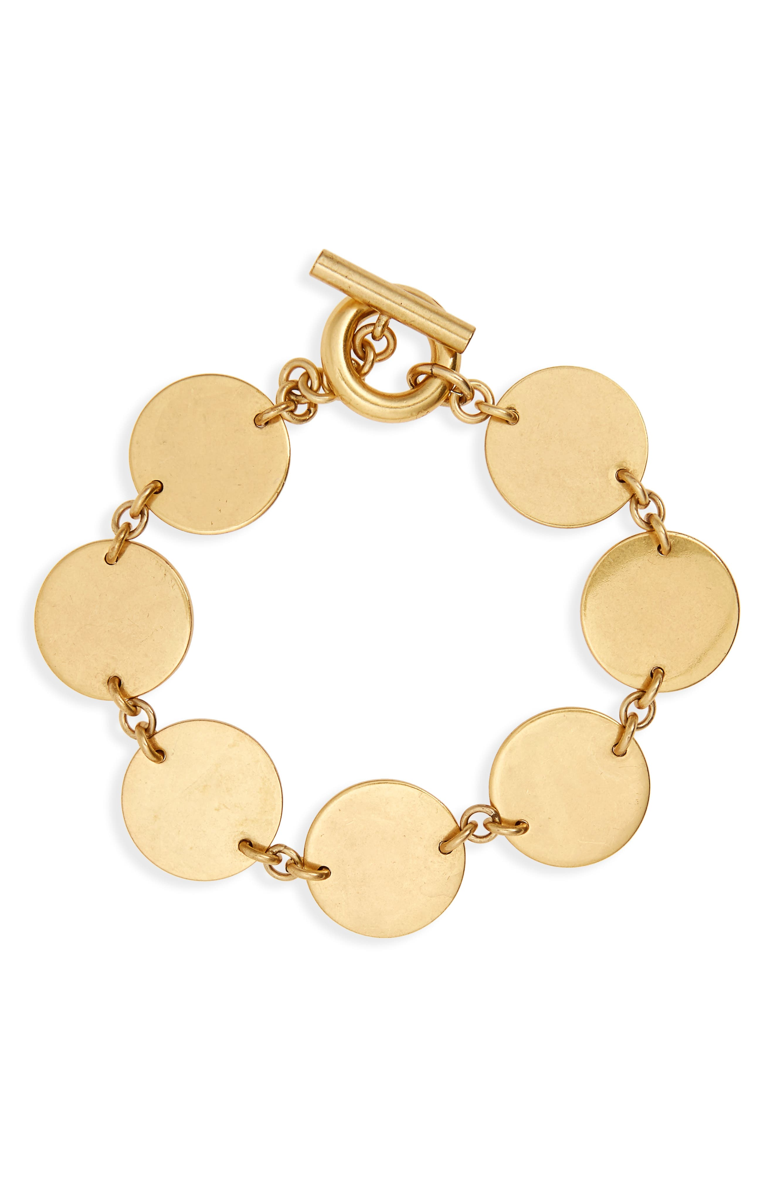 Madewell Disc Toggle Bracelet
