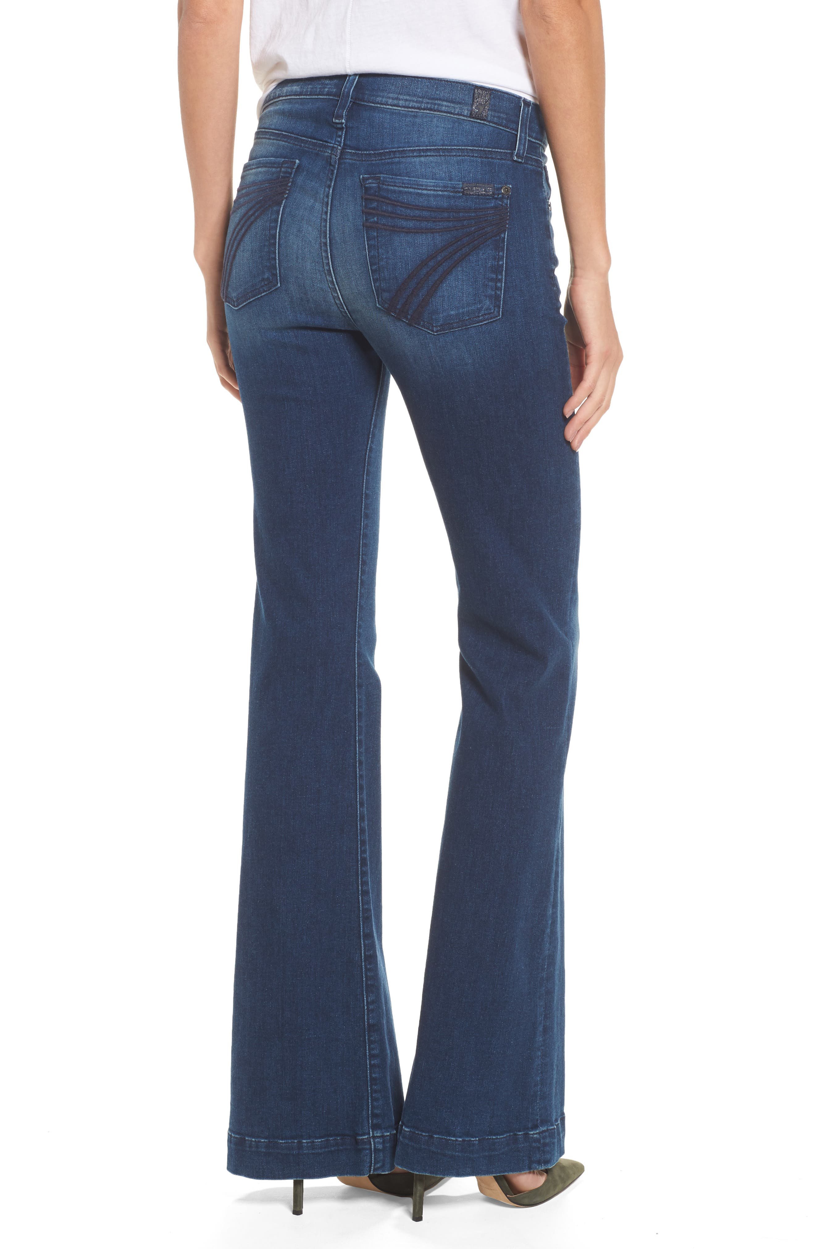Alternate Image 2  - 7 For All Mankind® Dojo Wide Leg Jeans (Bella Heritage)
