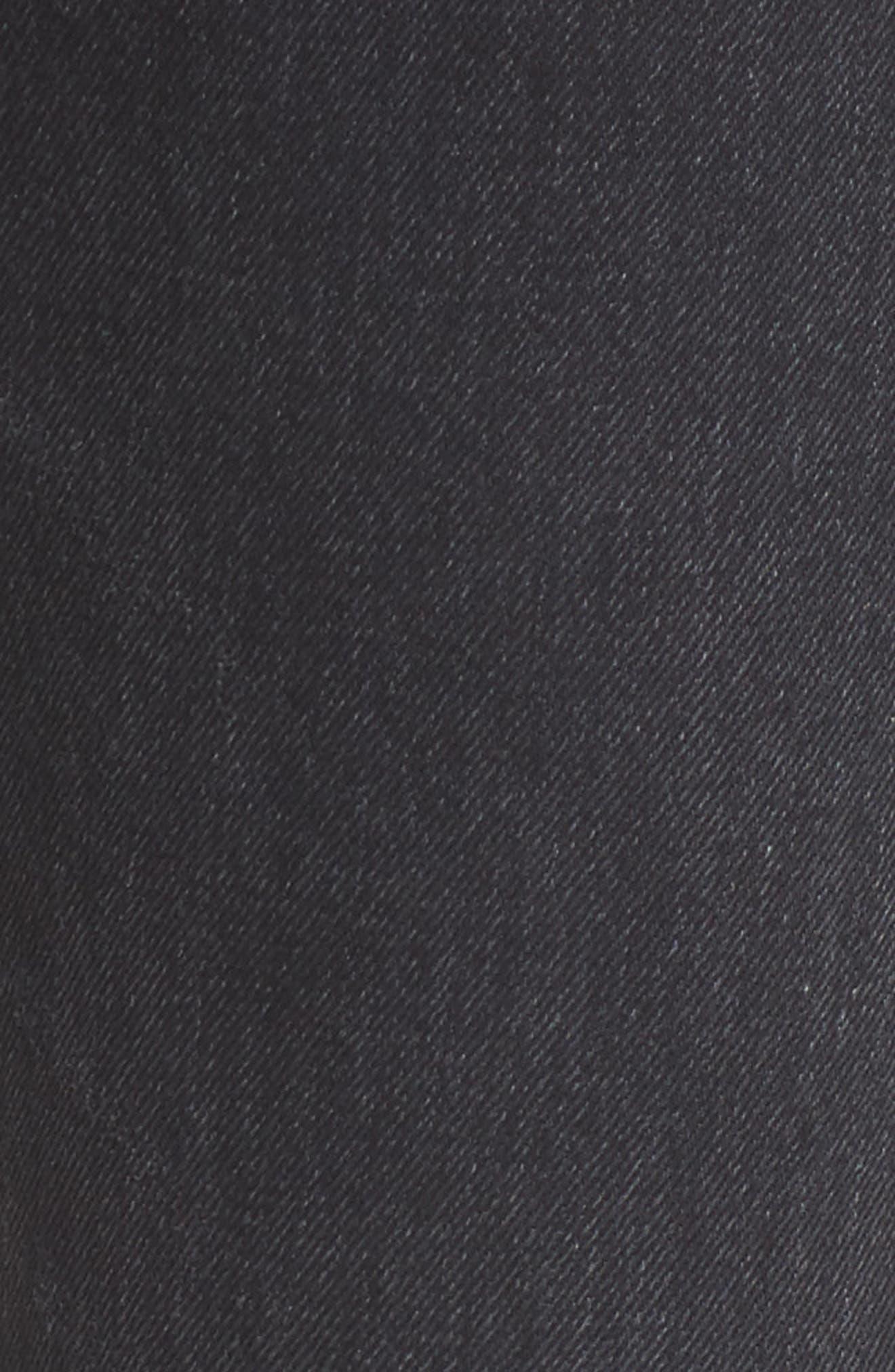 Alternate Image 5  - Citizens of Humanity Sasha Twist Crop Jeans (Black Hawk)