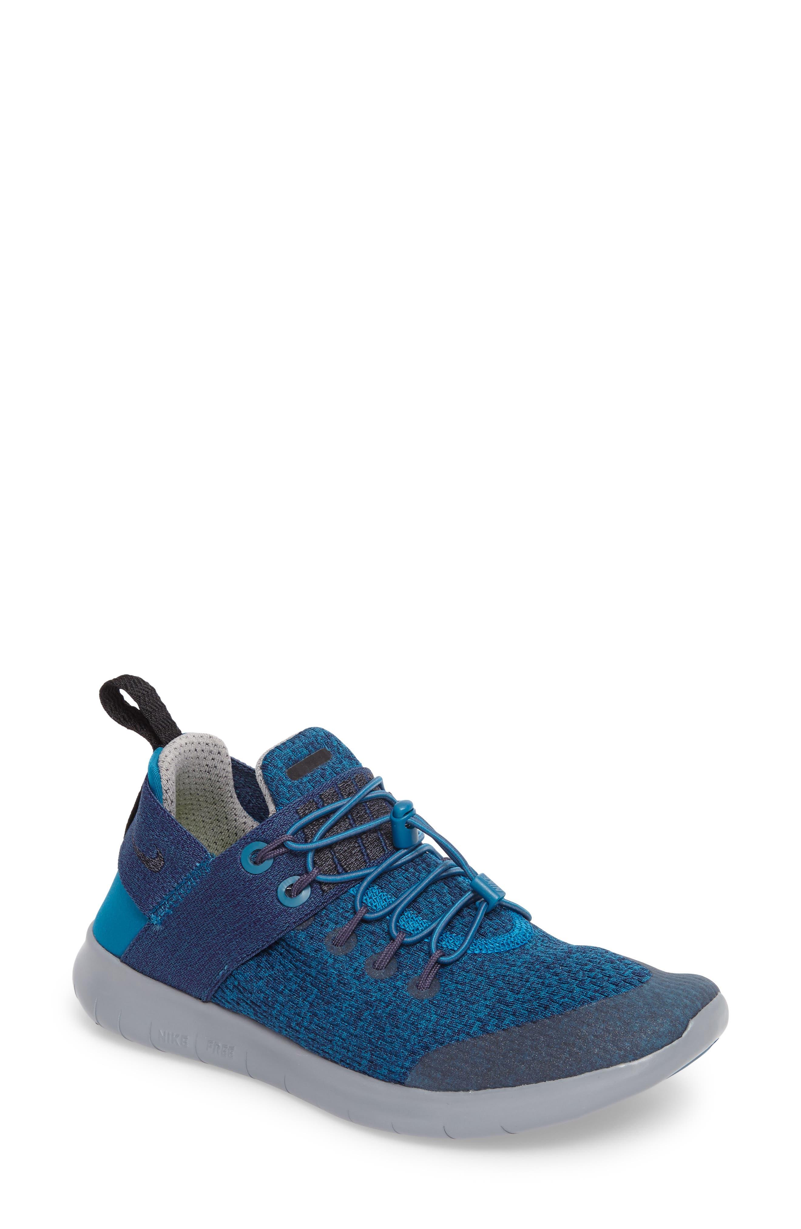 Free RN Commuter 2017 Premium Running Shoe,                         Main,                         color, Green / Black/ Cobblestone