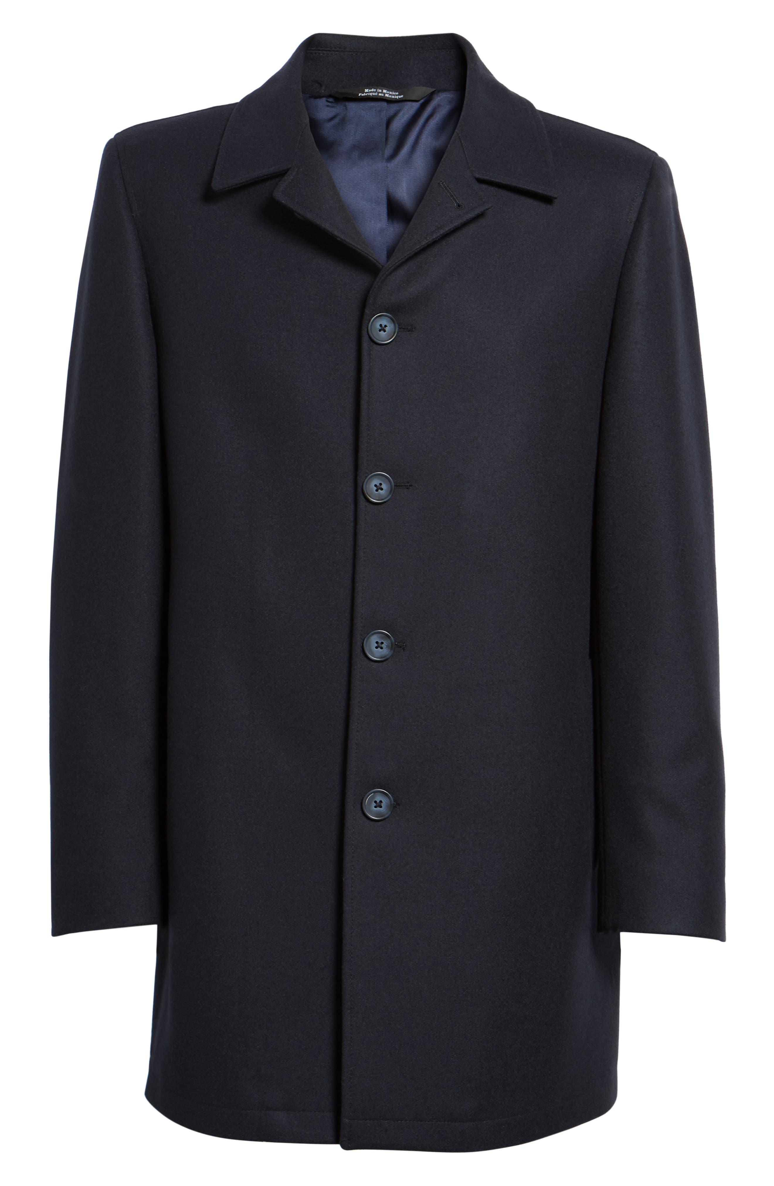 Alternate Image 6  - Nordstrom Men's Shop Wool Blend Car Coat