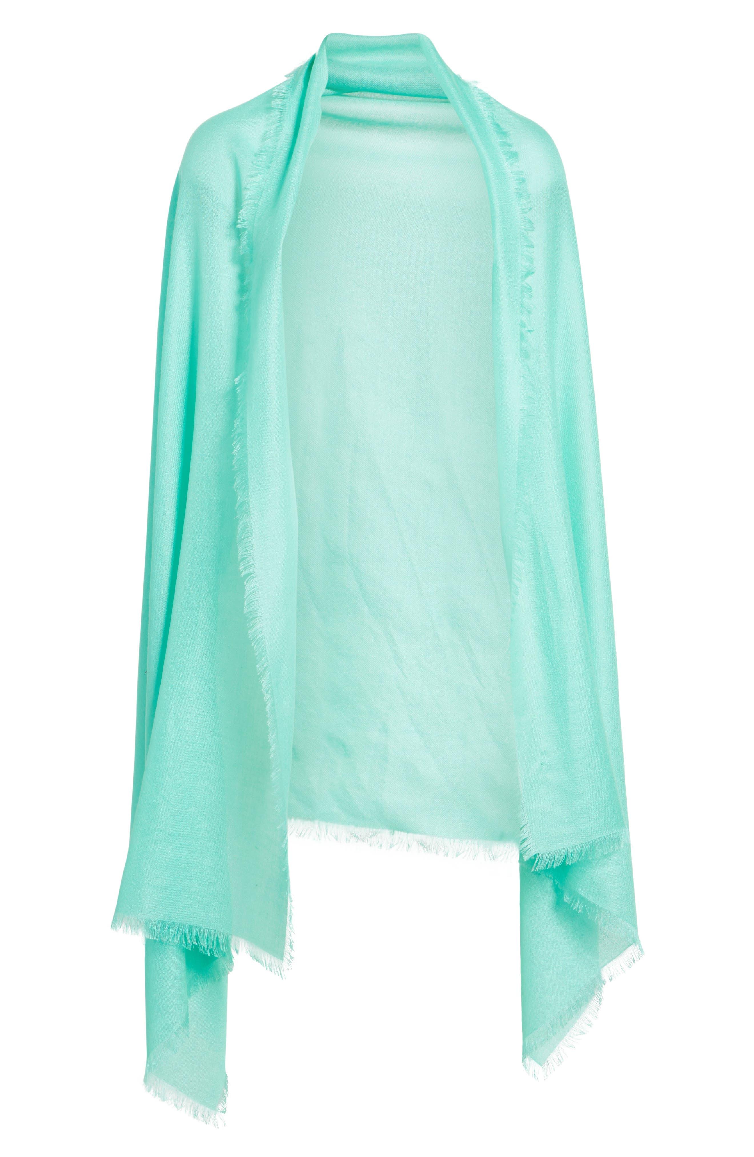 Alternate Image 2  - Nordstrom Cashmere & Silk Wrap