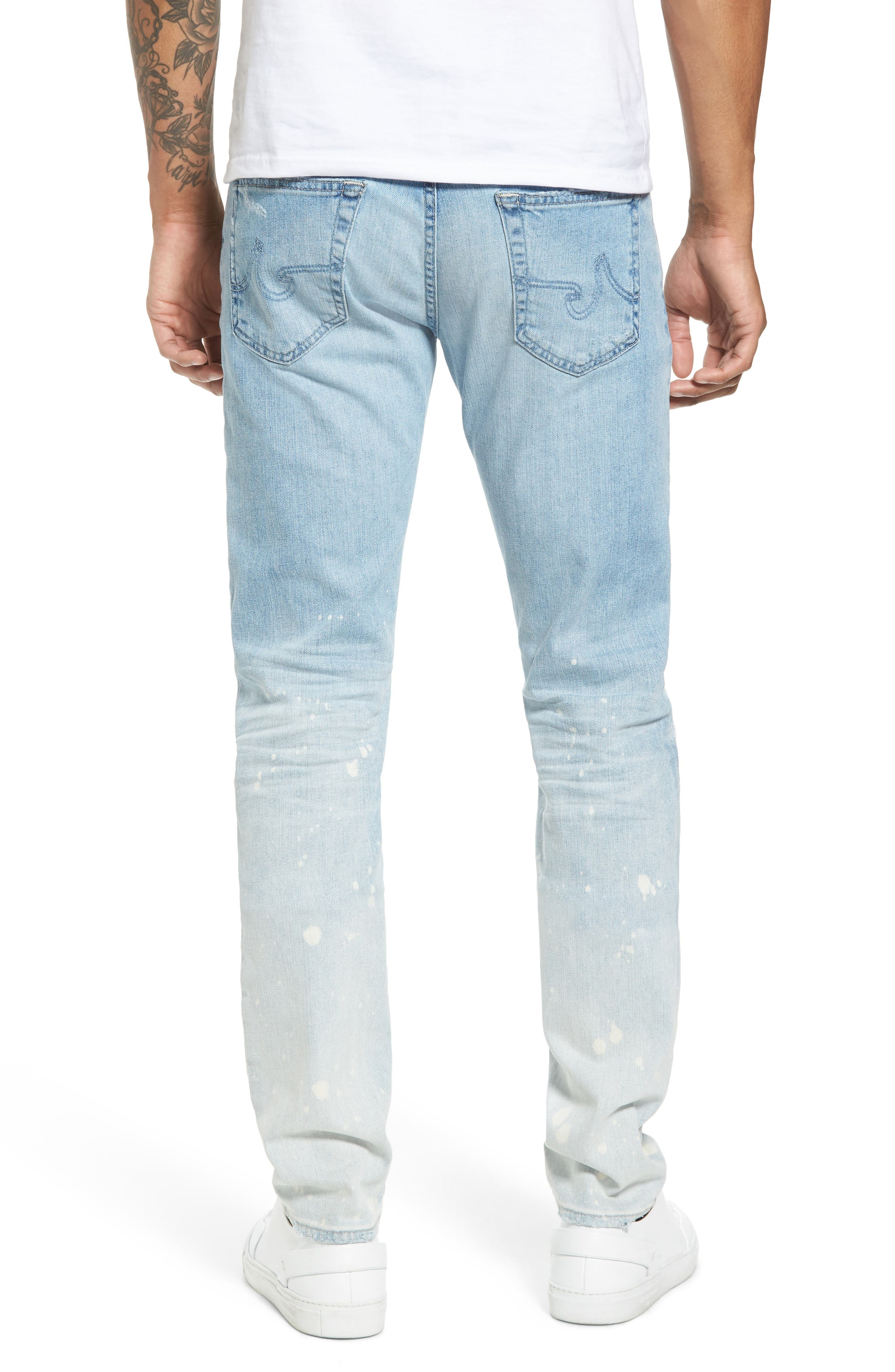 Dylan Slim Skinny Fit Jeans,                             Alternate thumbnail 2, color,                             23 Years Oceanside