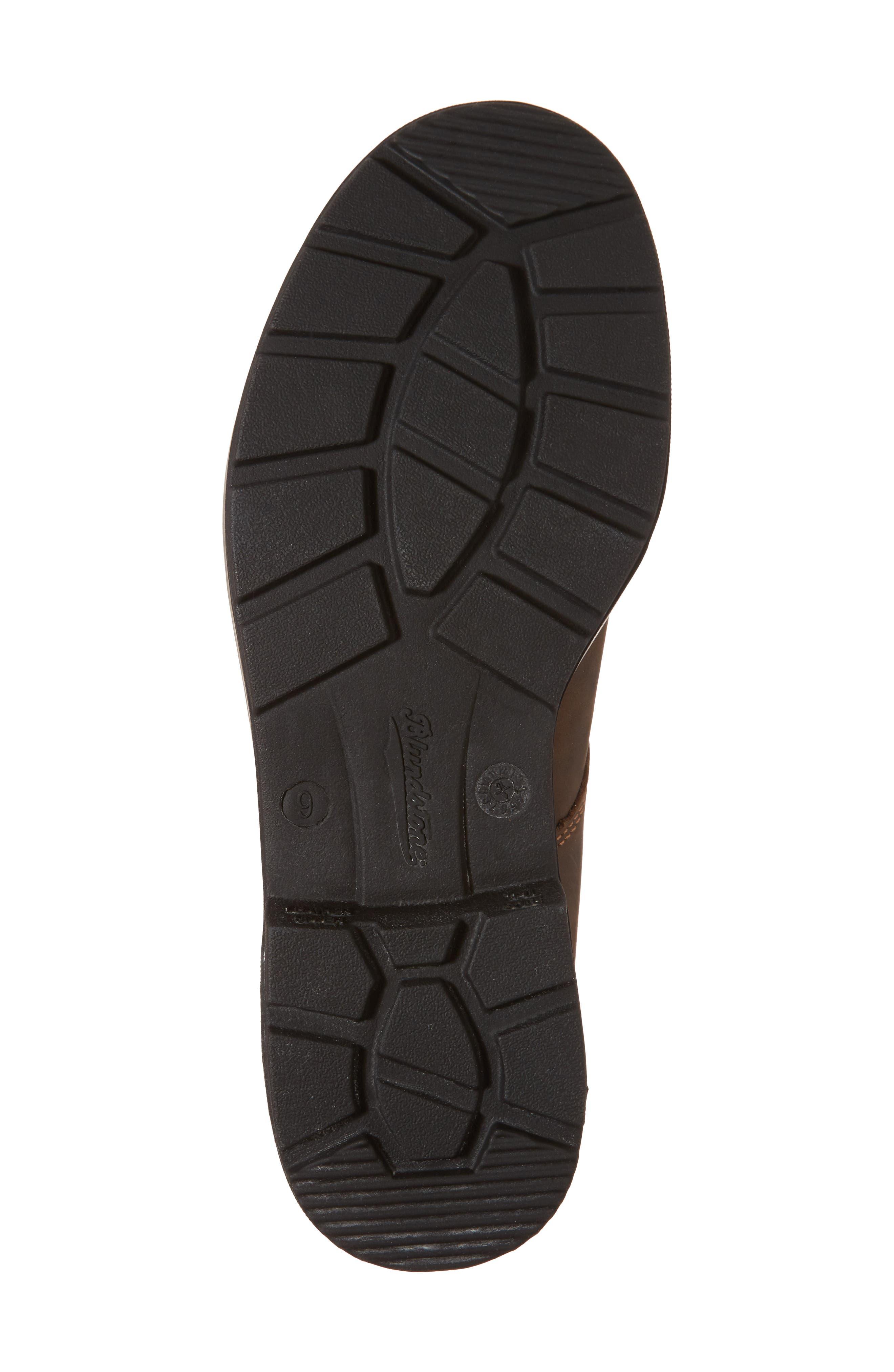 Original Plain Toe Boot,                             Alternate thumbnail 6, color,                             Rustic Brown Leather