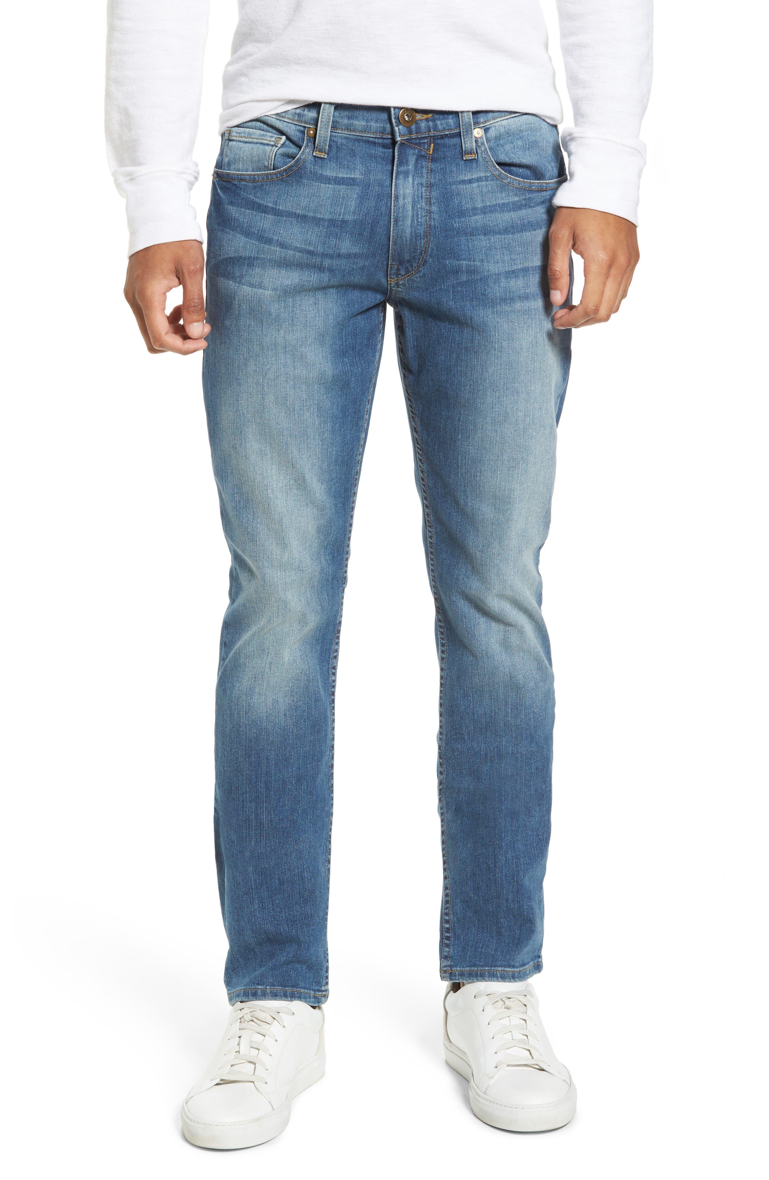 PAIGE Legacy - Lennox Slim Fit Jeans (Steele)
