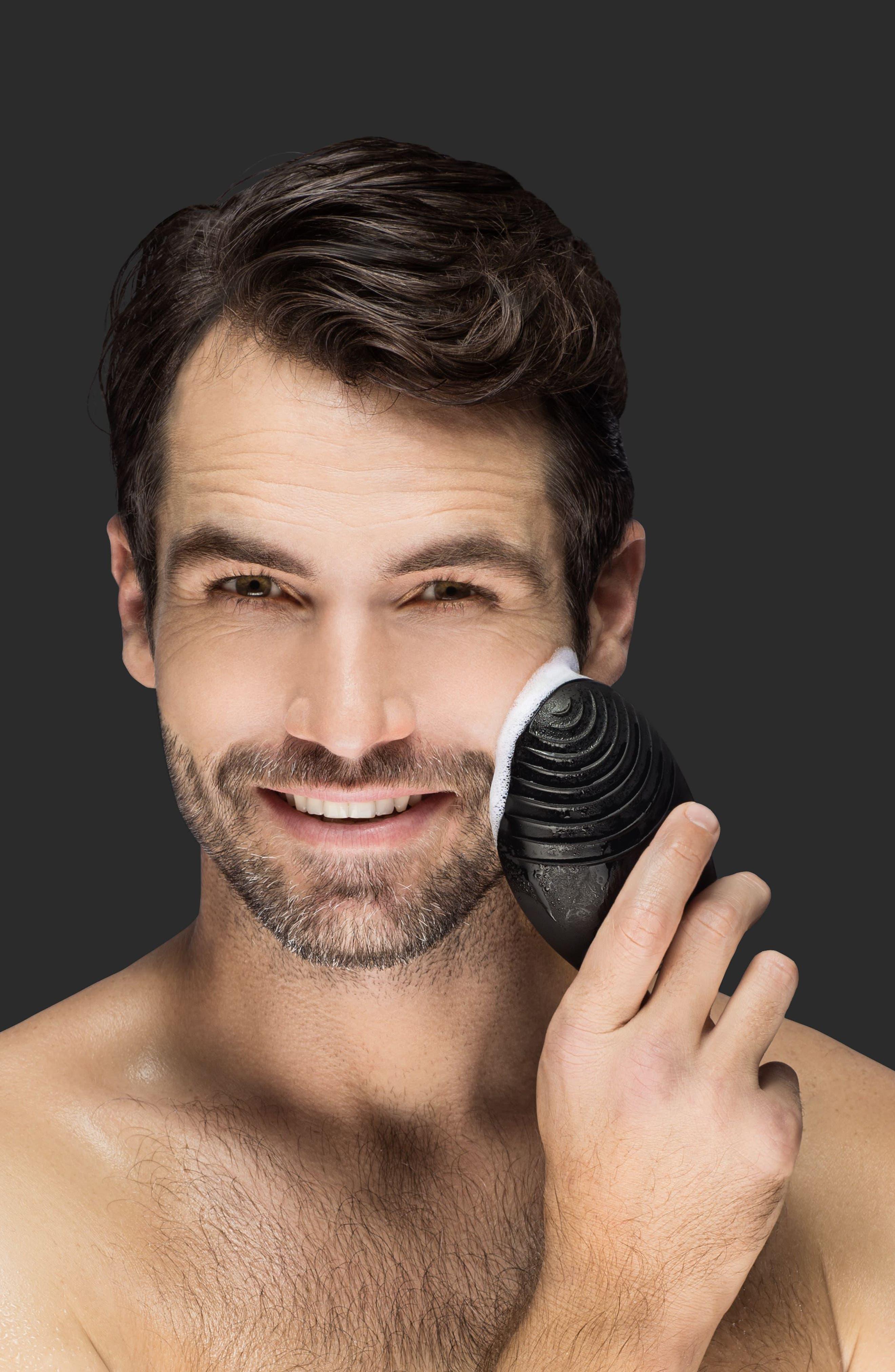 LUNA<sup>™</sup> 2 for Men Facial Cleansing Device,                             Alternate thumbnail 4, color,                             No Color