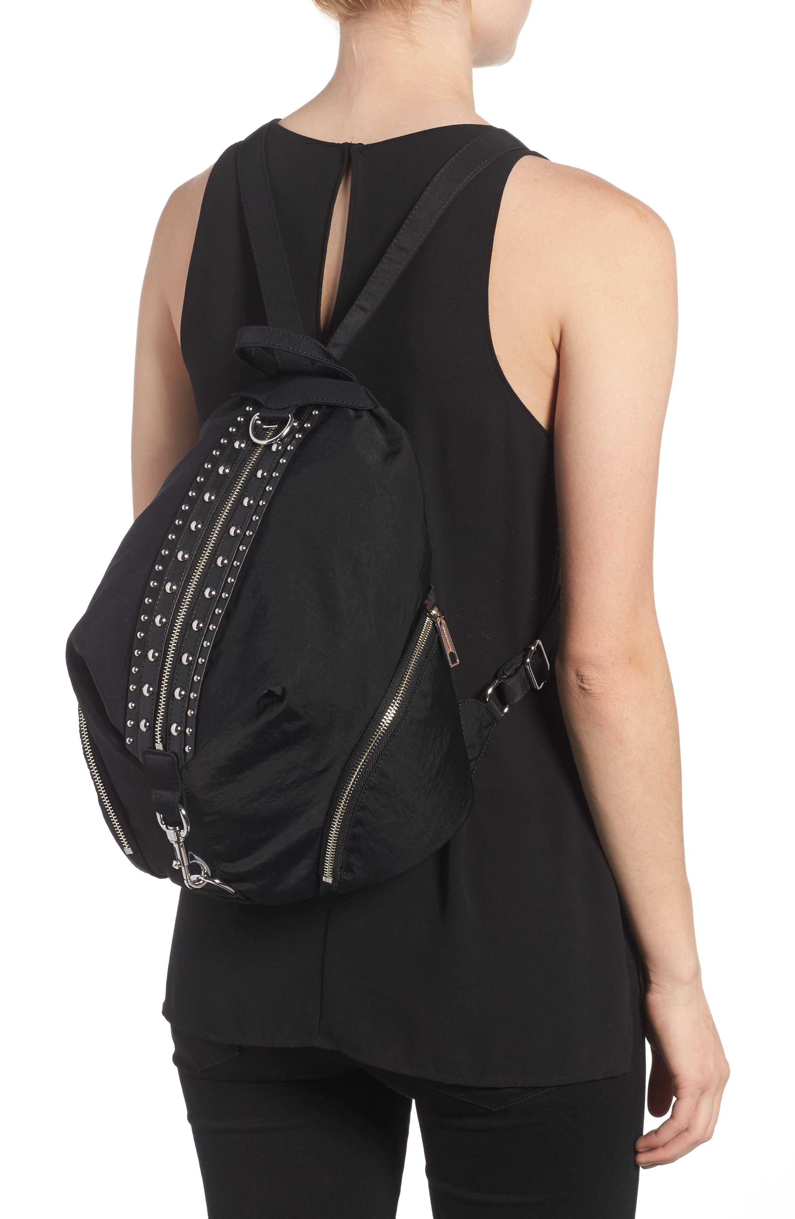 Alternate Image 2  - Rebecca Minkoff Julian Studded Nylon Backpack