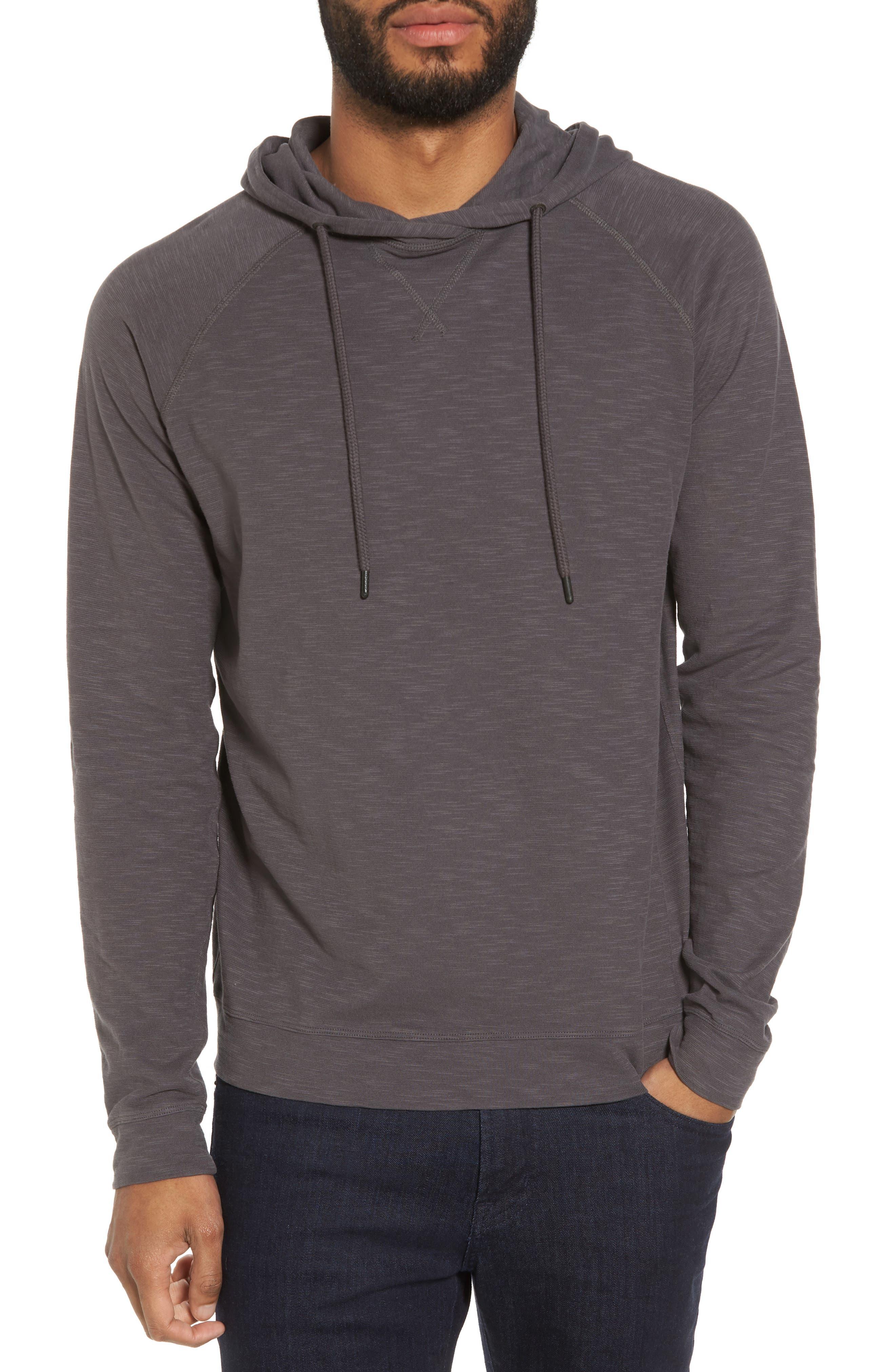 Slim Fit Pullover Hoodie,                         Main,                         color, Magnet