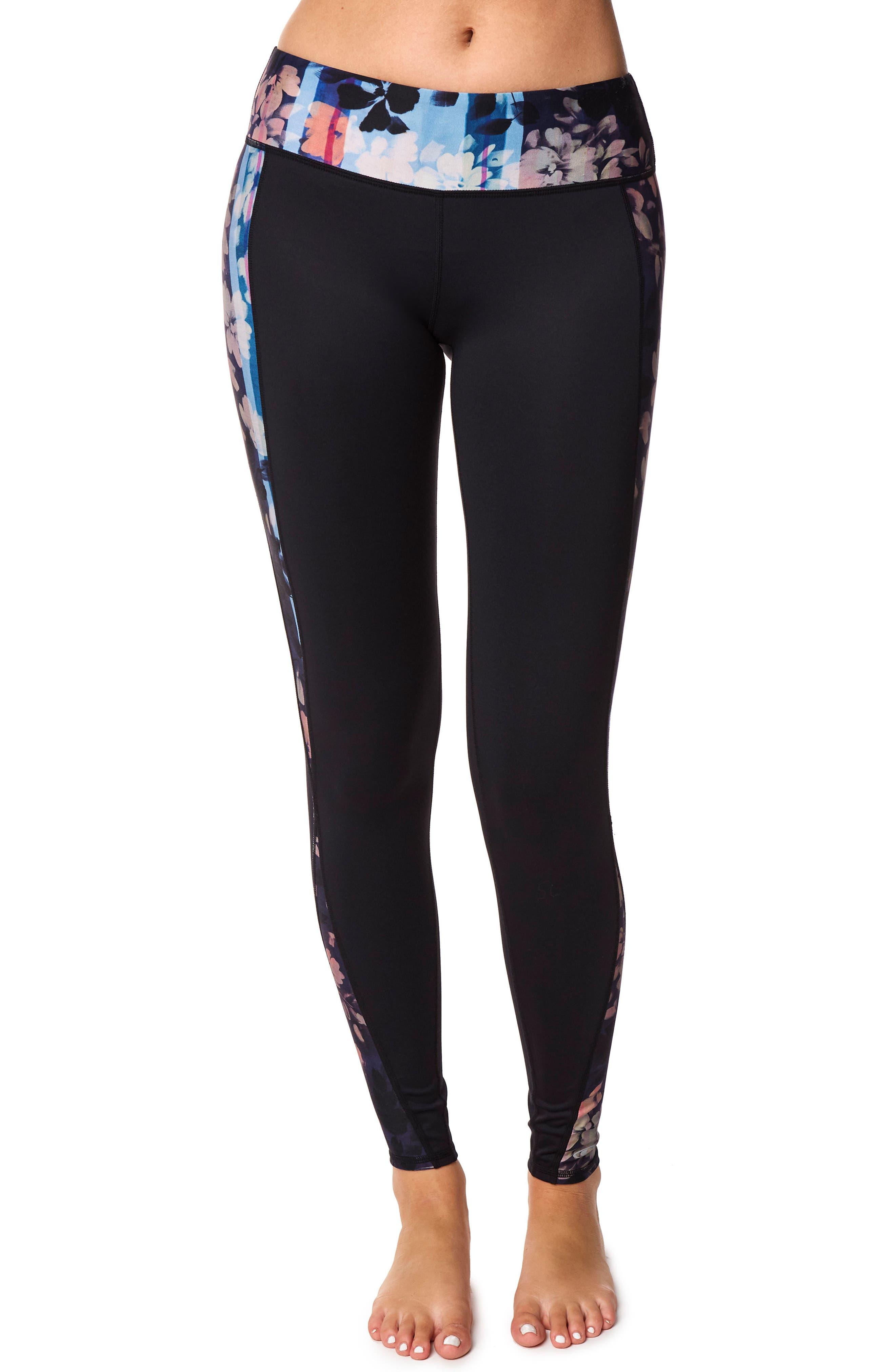 Dive Hybrid Leggings,                         Main,                         color, Multi Color