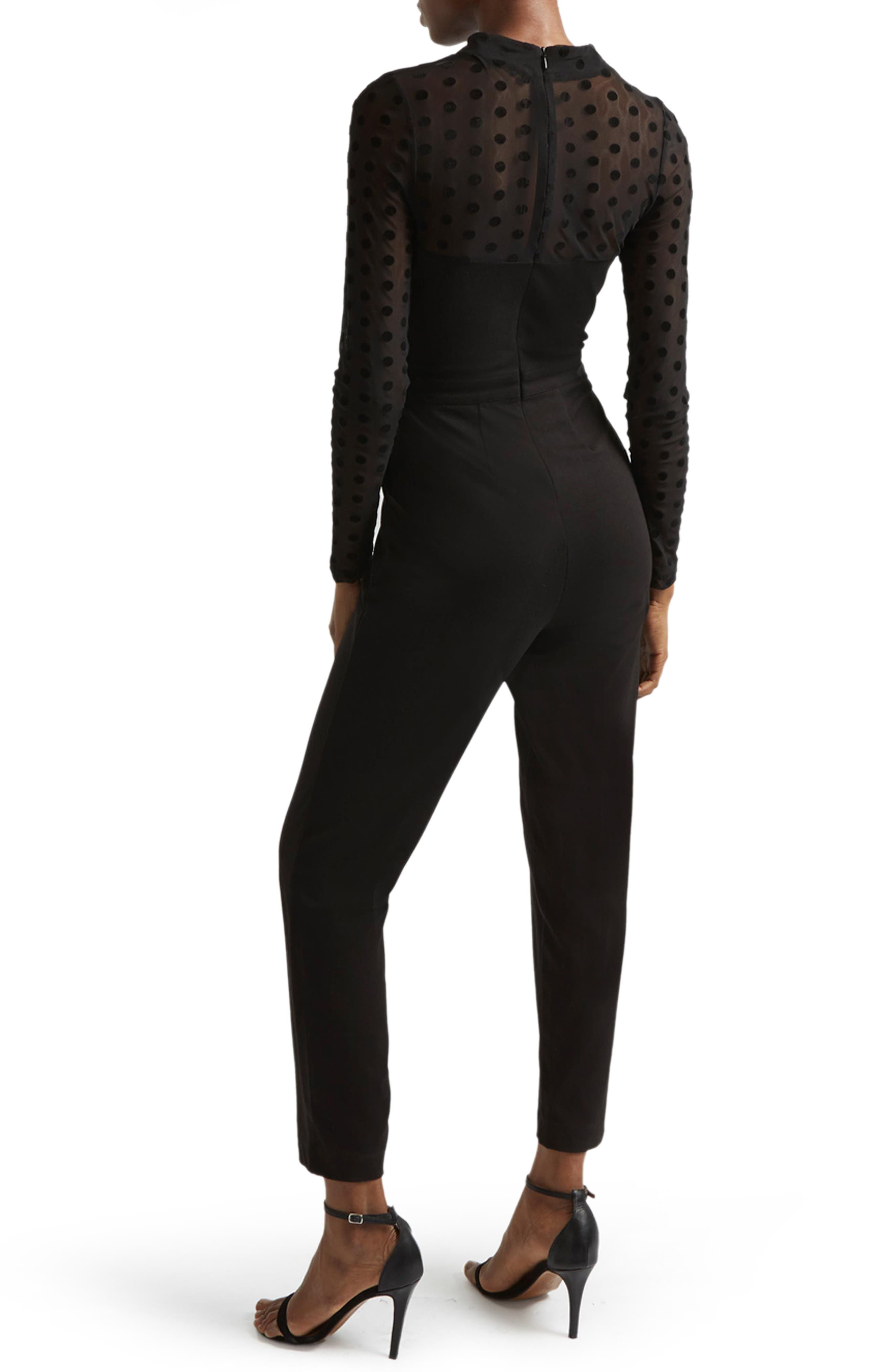 Alternate Image 2  - French Connection Leah Jersey Jumpsuit