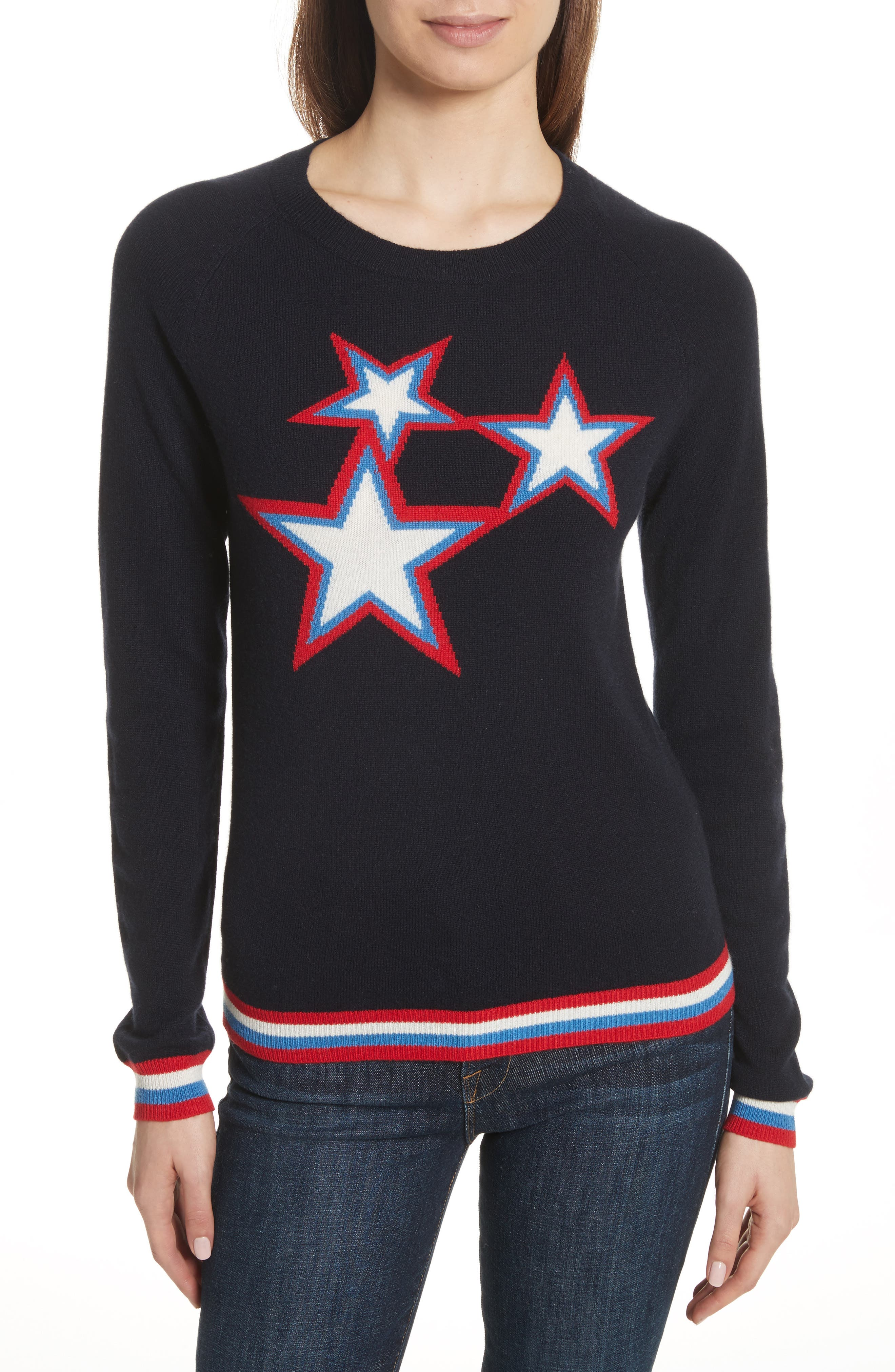 CHINTI & PARKER Starbust Cashmere Sweater