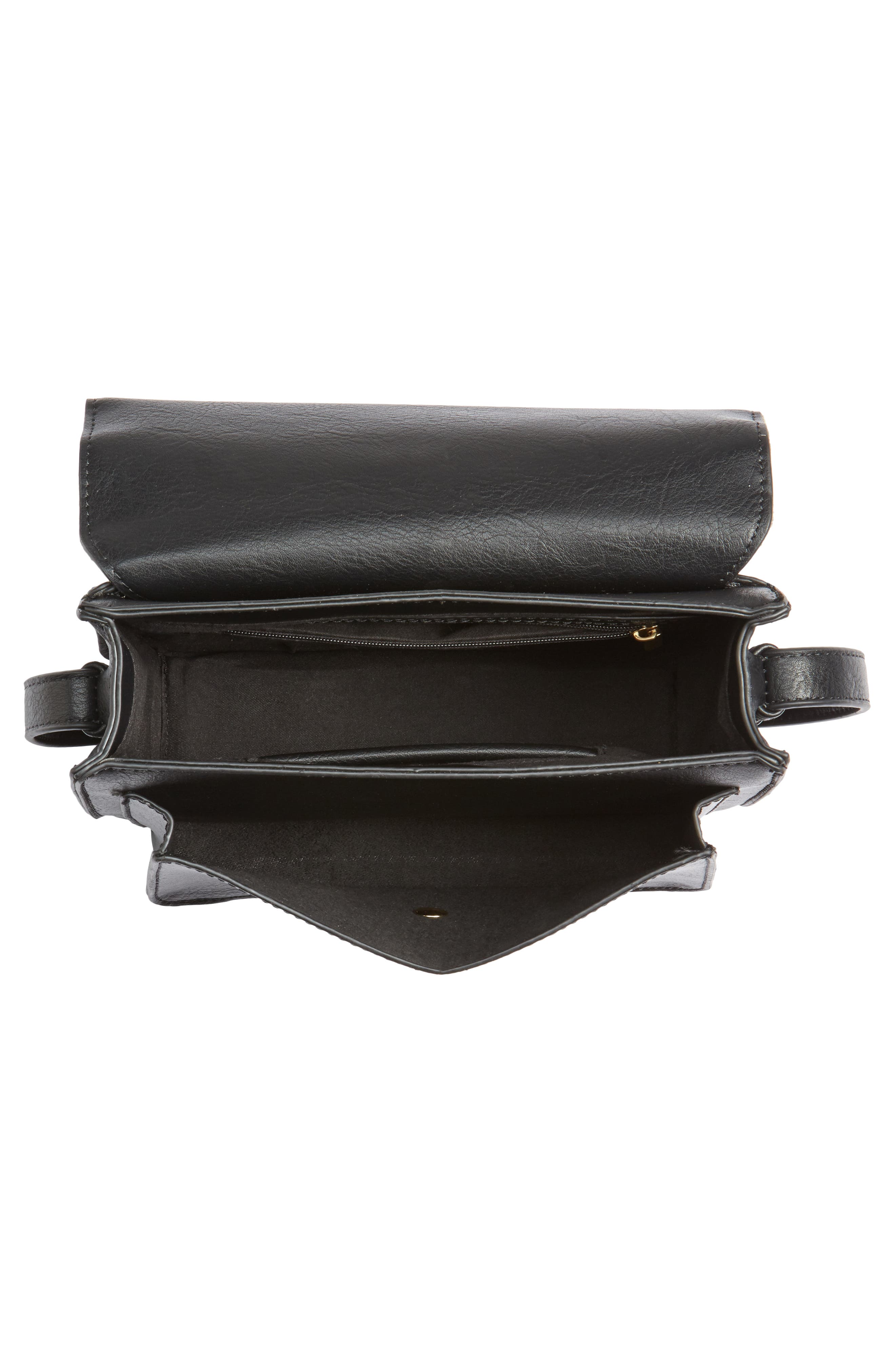 Alternate Image 4  - Sole Society Michelle Genuine Calf Hair Flap Crossbody Bag