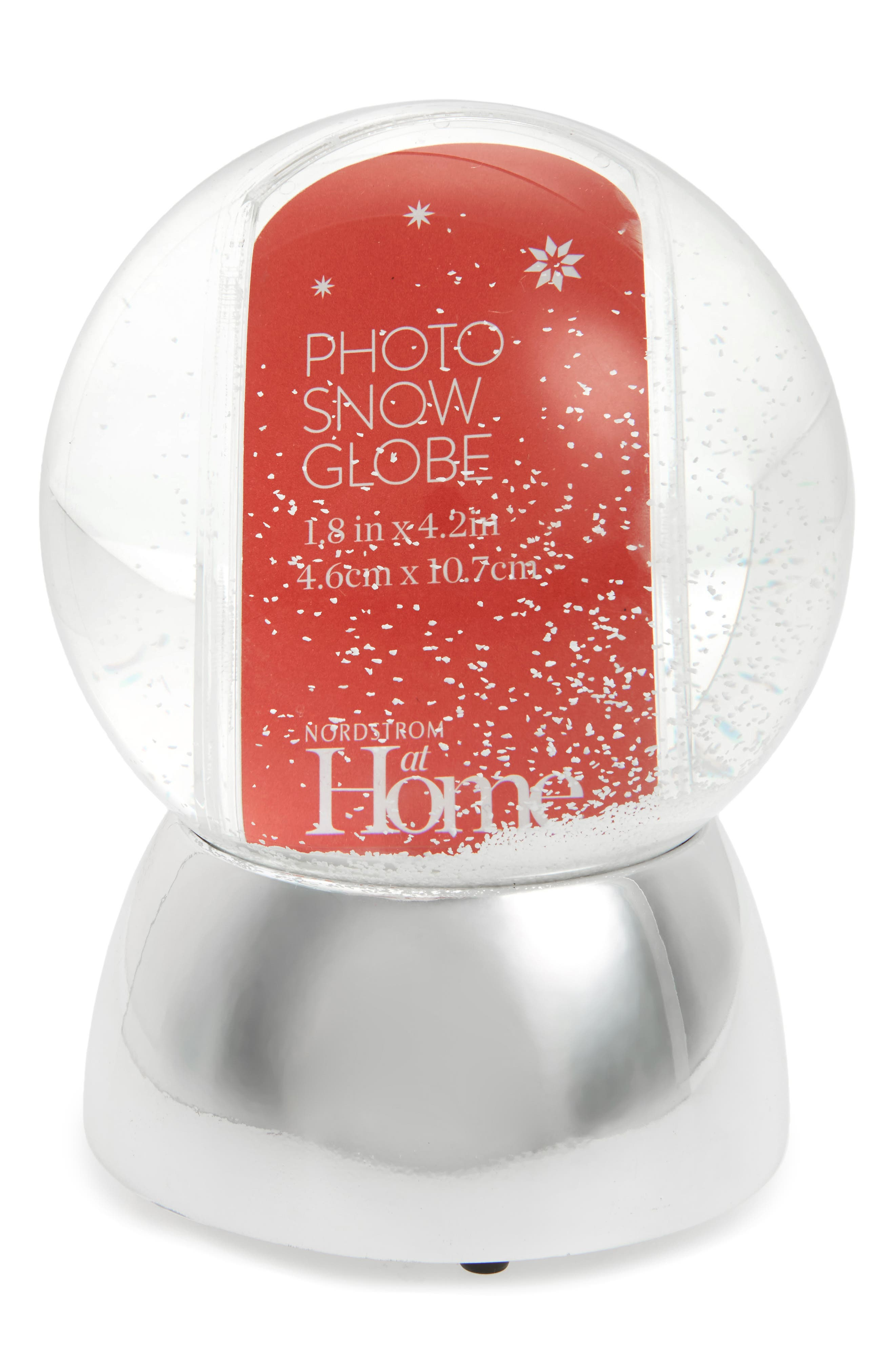 Nordstrom at Home Photo Snow Globe