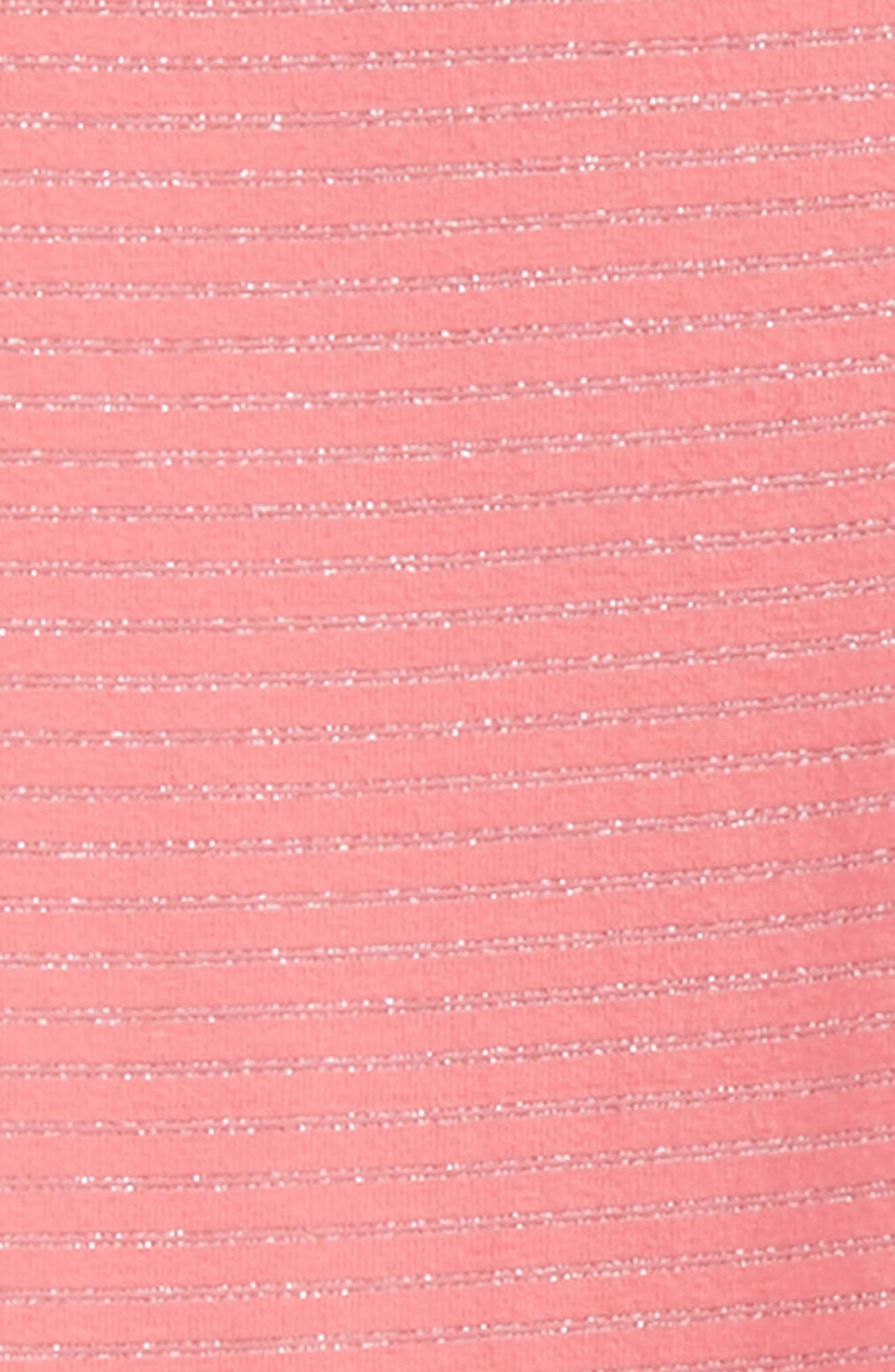 Sparkle Stripe Leggings,                             Alternate thumbnail 2, color,                             Pink Lemonade Sparkle Stripe