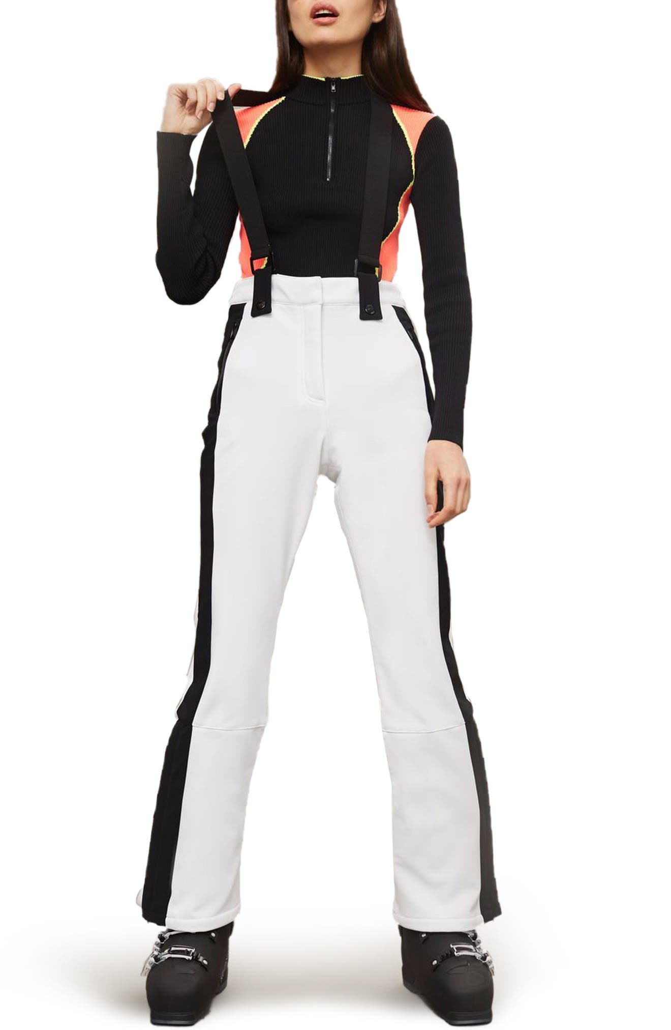 Topshop SNO Bullet Suspender Ski Pants