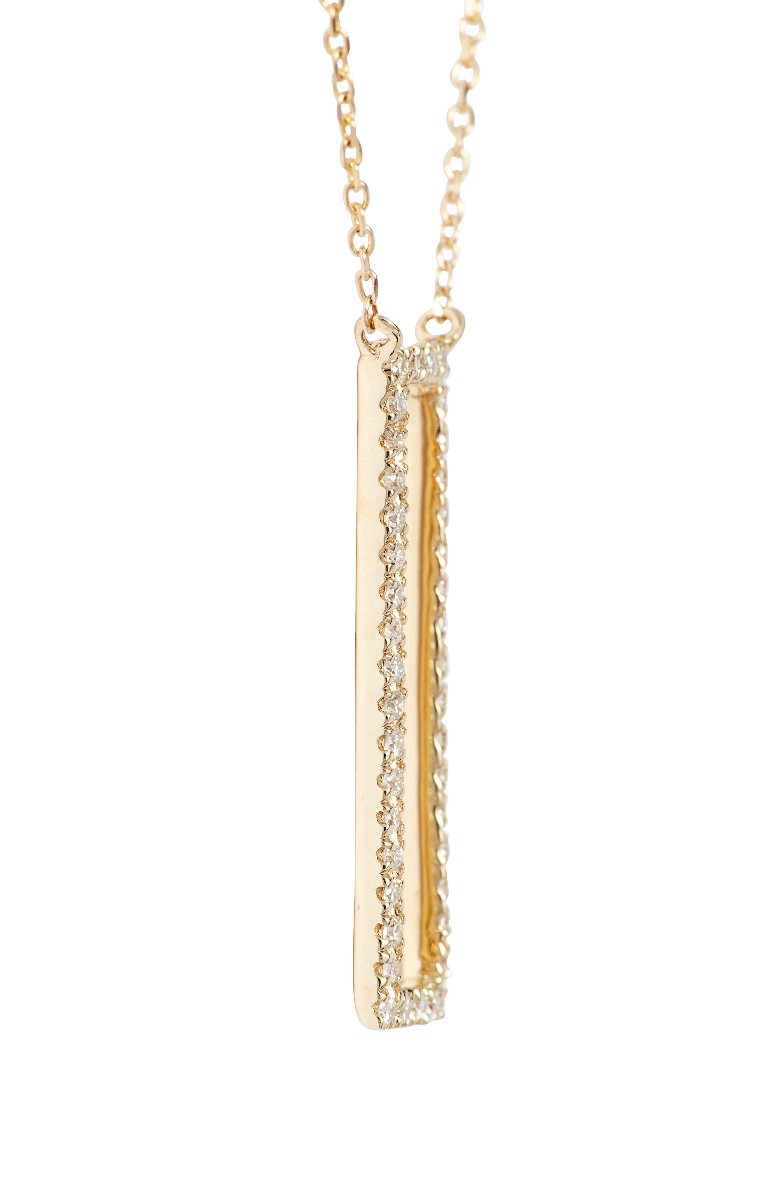 Alternate Image 3  - Dana Rebecca Designs Diamond Pendant Necklace