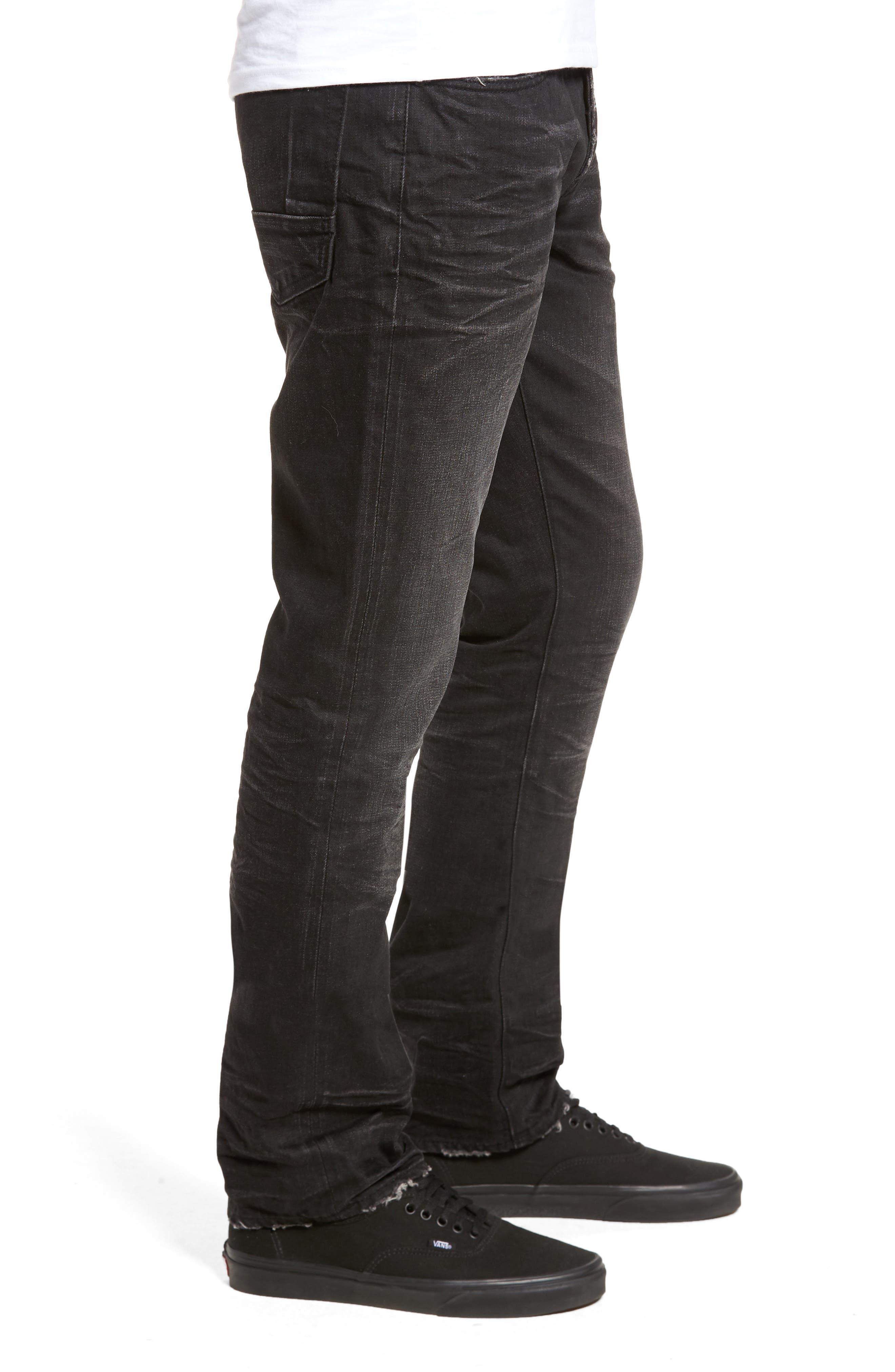 Slim Straight Leg Jeans,                             Alternate thumbnail 3, color,                             Sternum