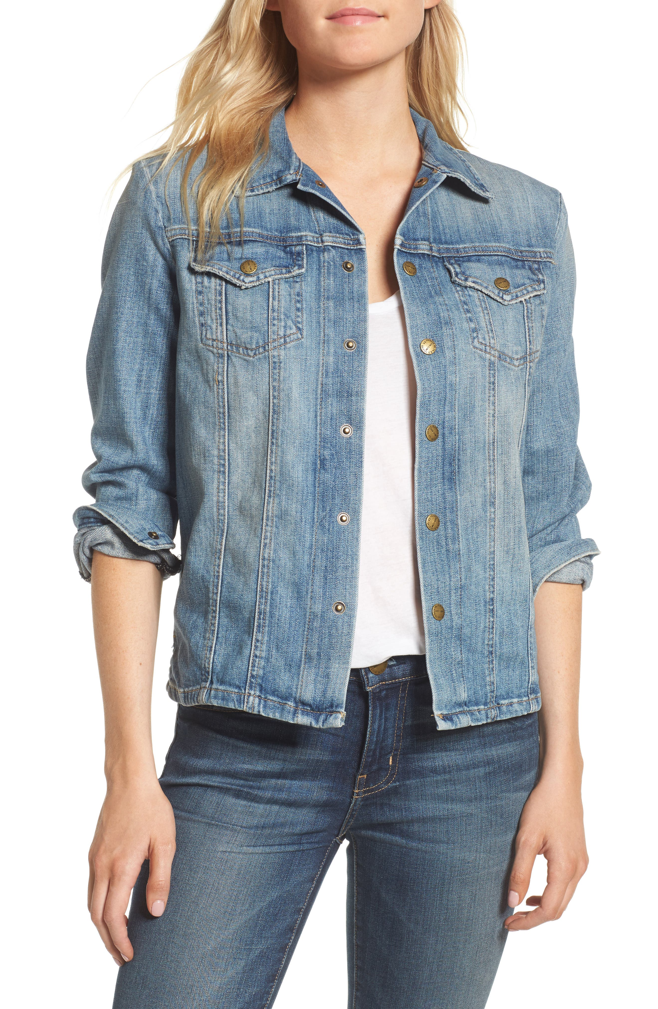 'The Mechanic' Jean Jacket,                         Main,                         color, Super Loved