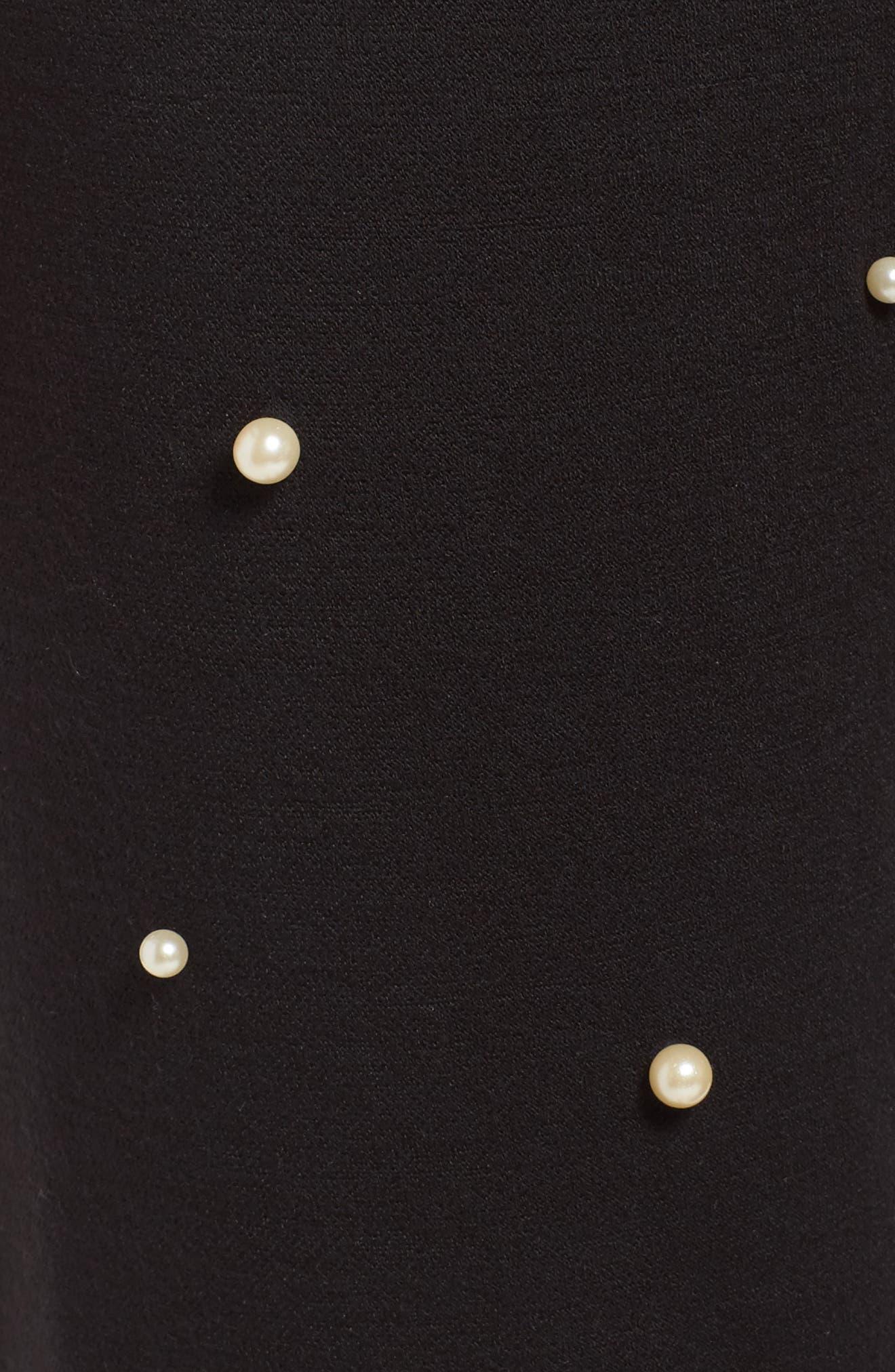 Alternate Image 6  - Michael Lauren Price Imitation Pearl Embellished Lounge Pants