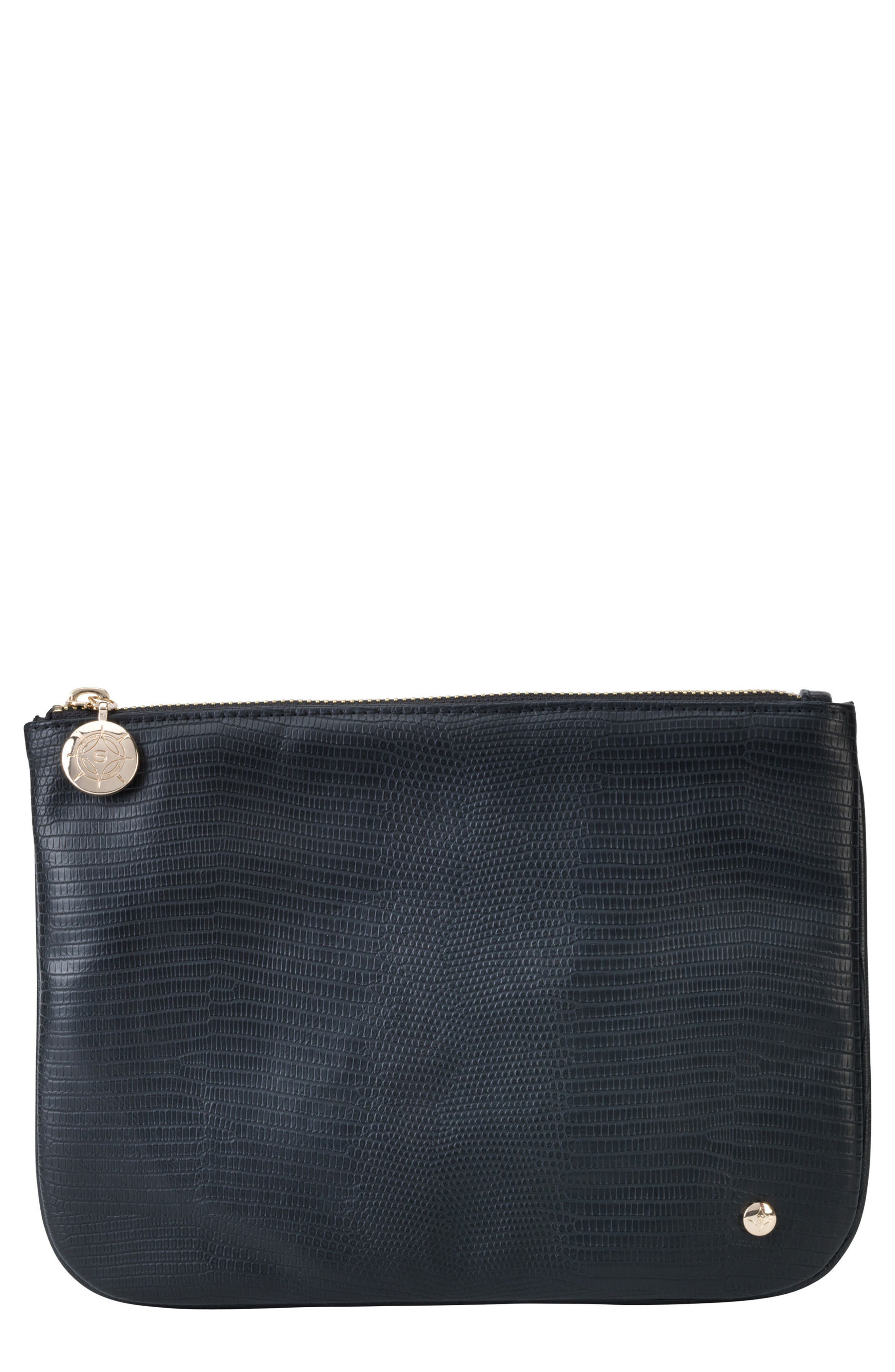 Stephanie Johnson Galapagos Noir Large Flat Pouch