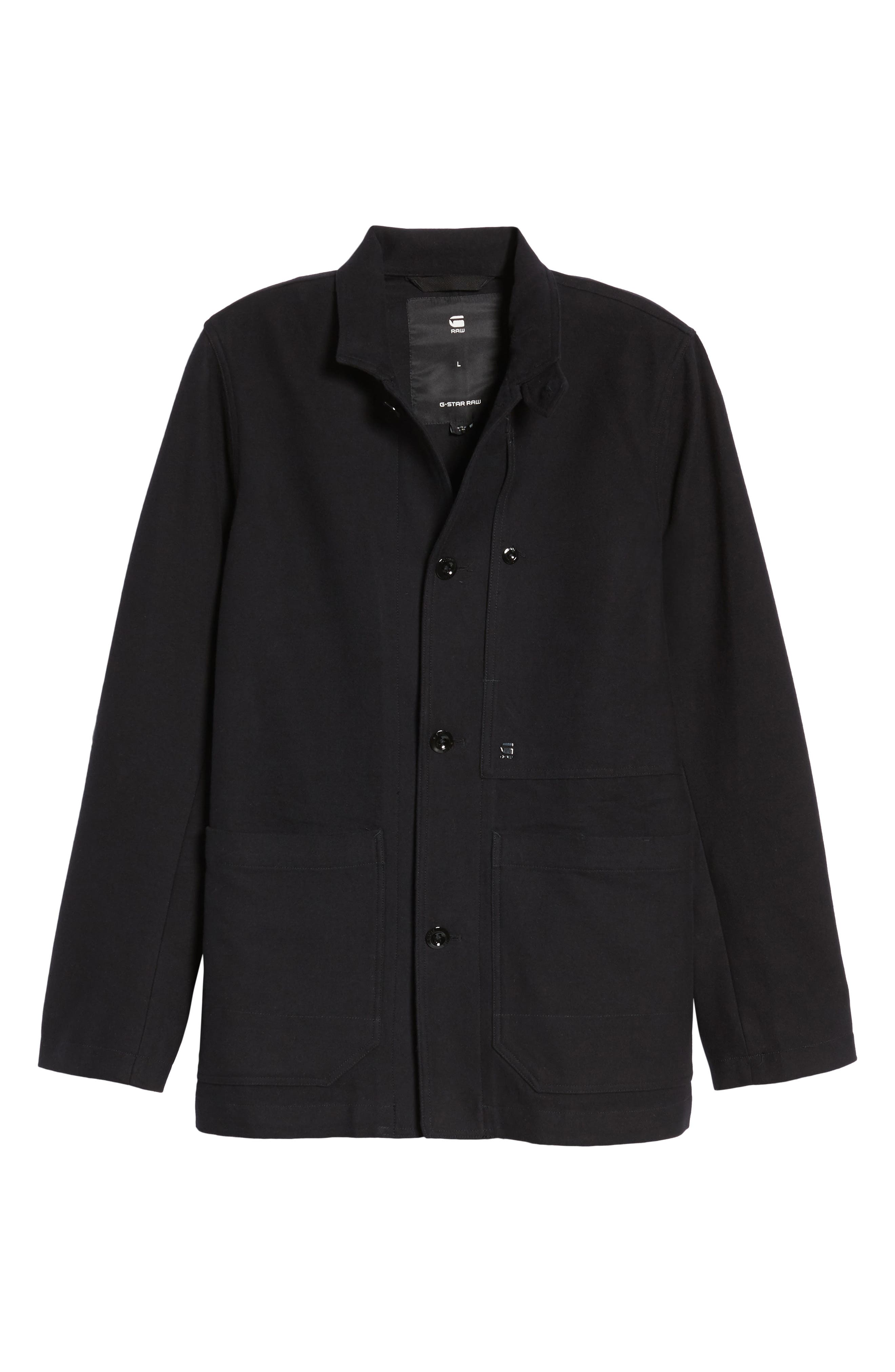 Bronson Worker Blazer,                             Alternate thumbnail 6, color,                             Black