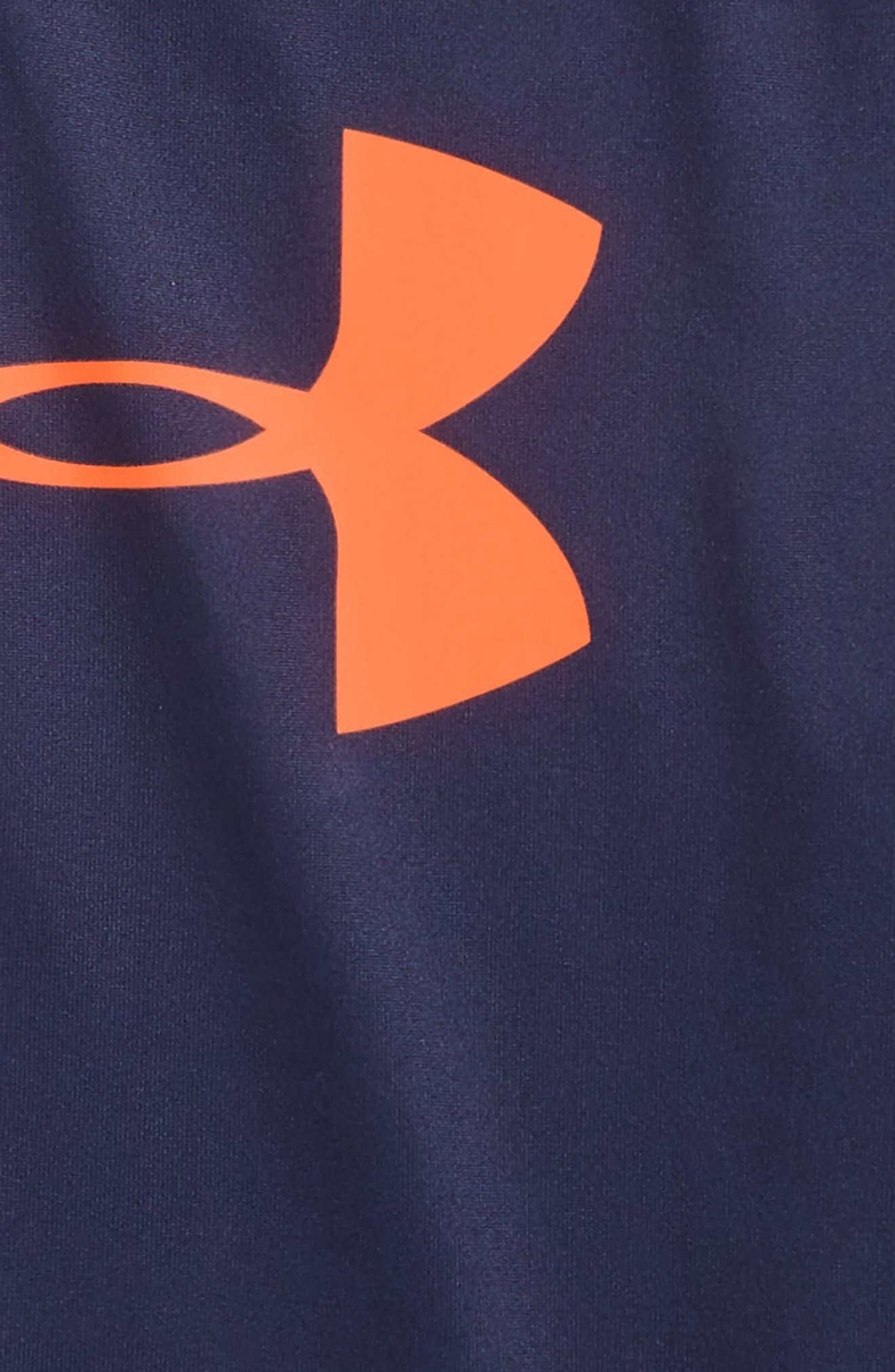 Alternate Image 2  - Under Armour Big Logo Raglan T-shirt (Toddler Boys & Little Boys)
