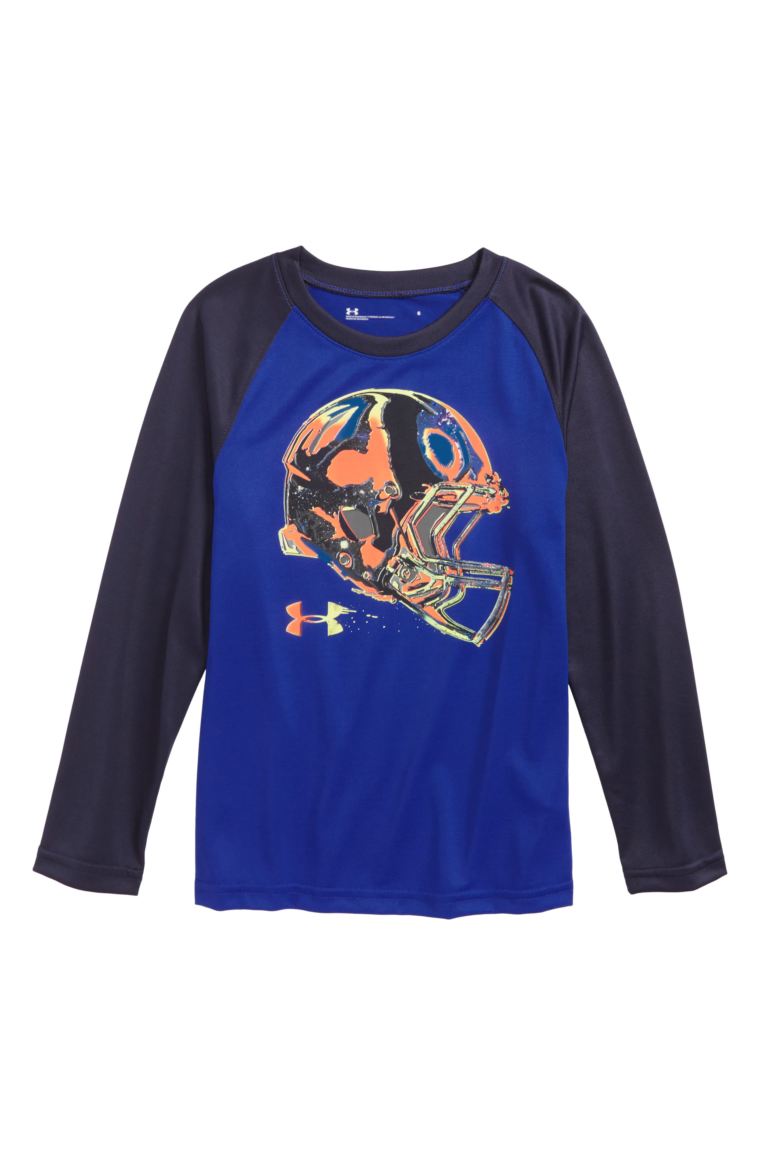 Main Image - Under Armour Accelerate Raglan T-Shirt (Toddler Boys & Little Boys)