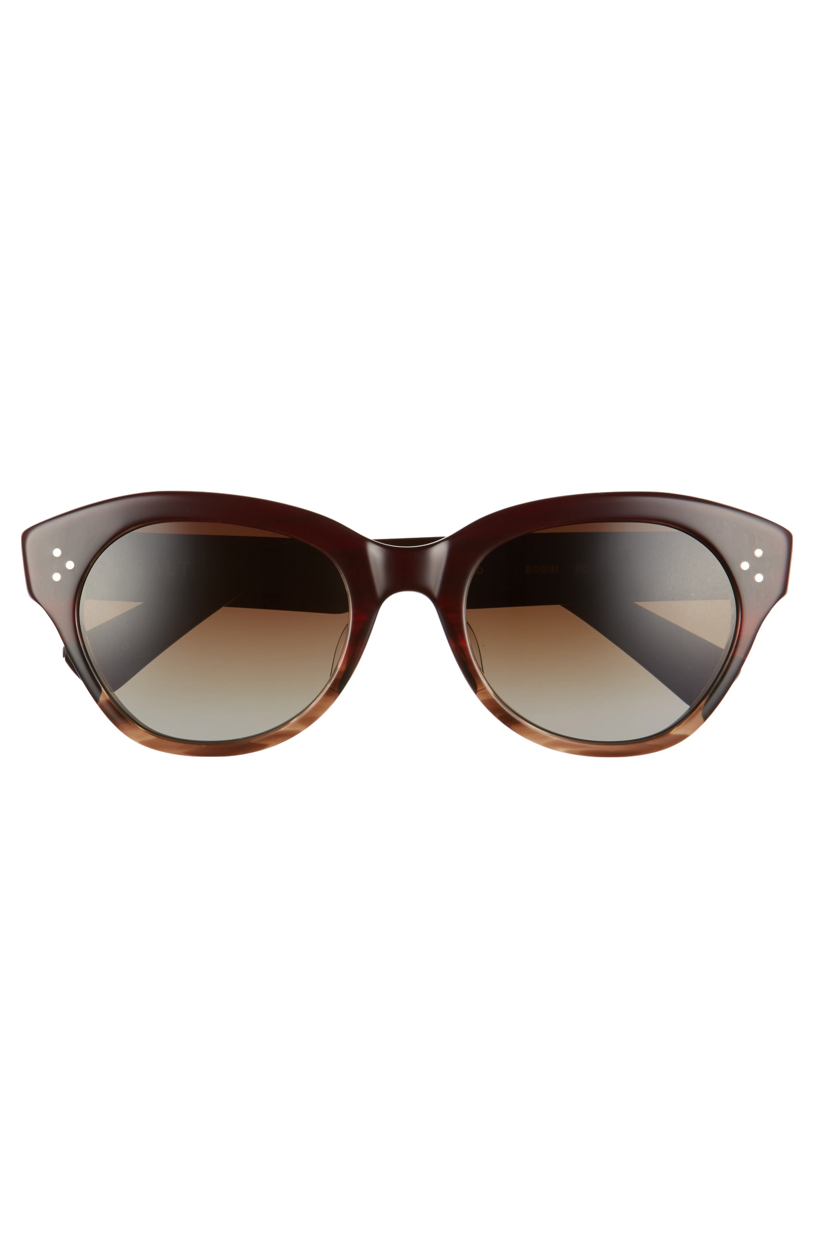 Alternate Image 3  - Salt 53mm Cat Eye Polarized Sunglasses