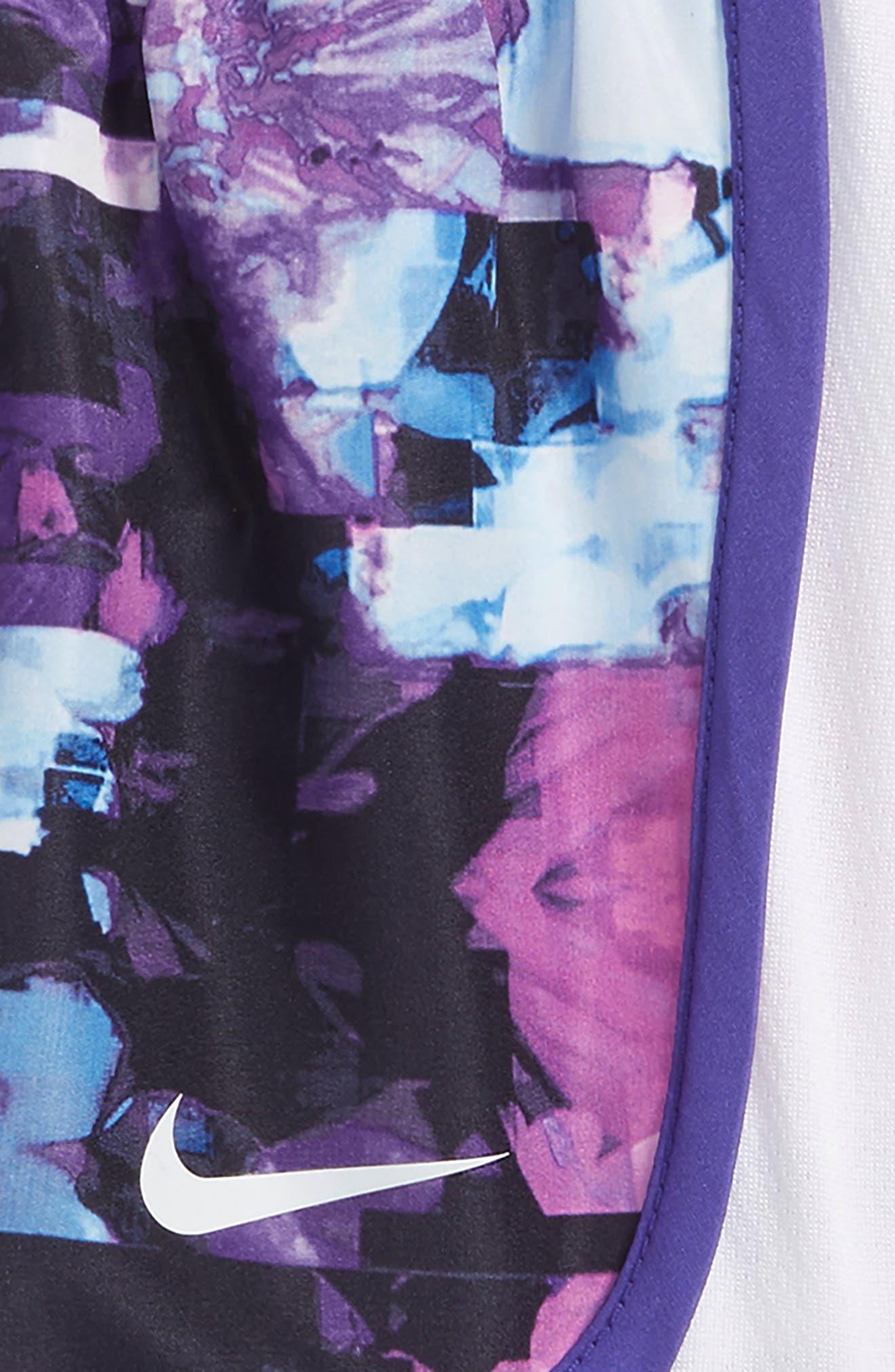 Alternate Image 2  - Nike Tempo Dry Shorts (Baby Girls)