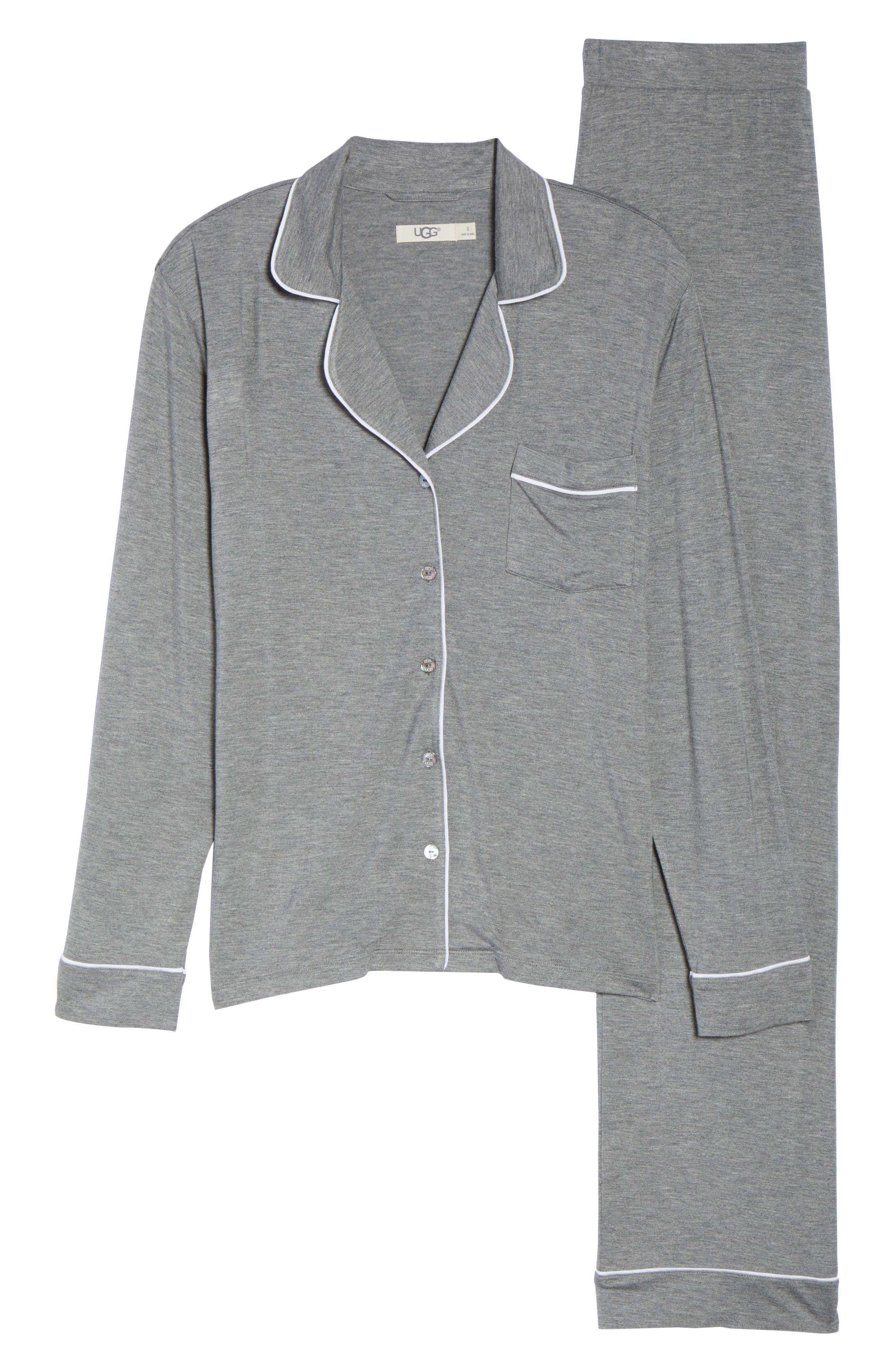Alternate Image 6  - UGG® Lenon Jersey Pajamas