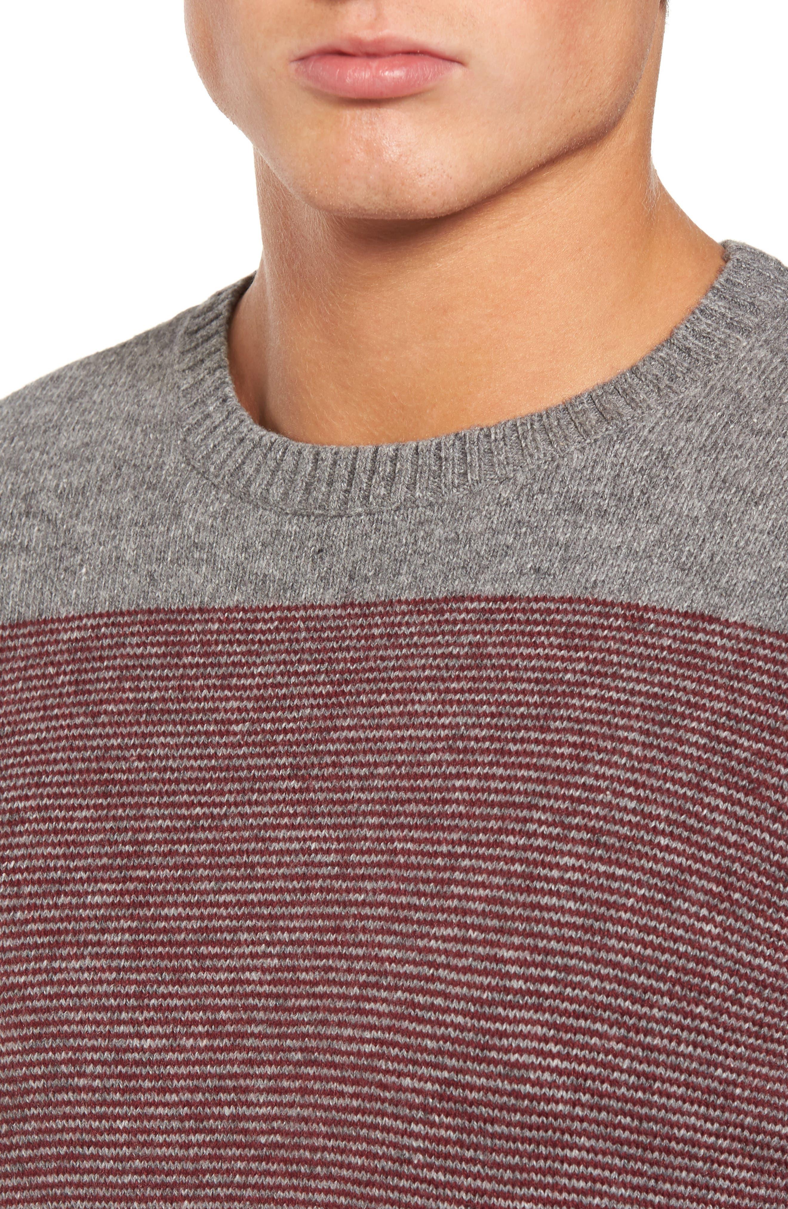 Alternate Image 3  - RVCA Channels Crewneck Sweater