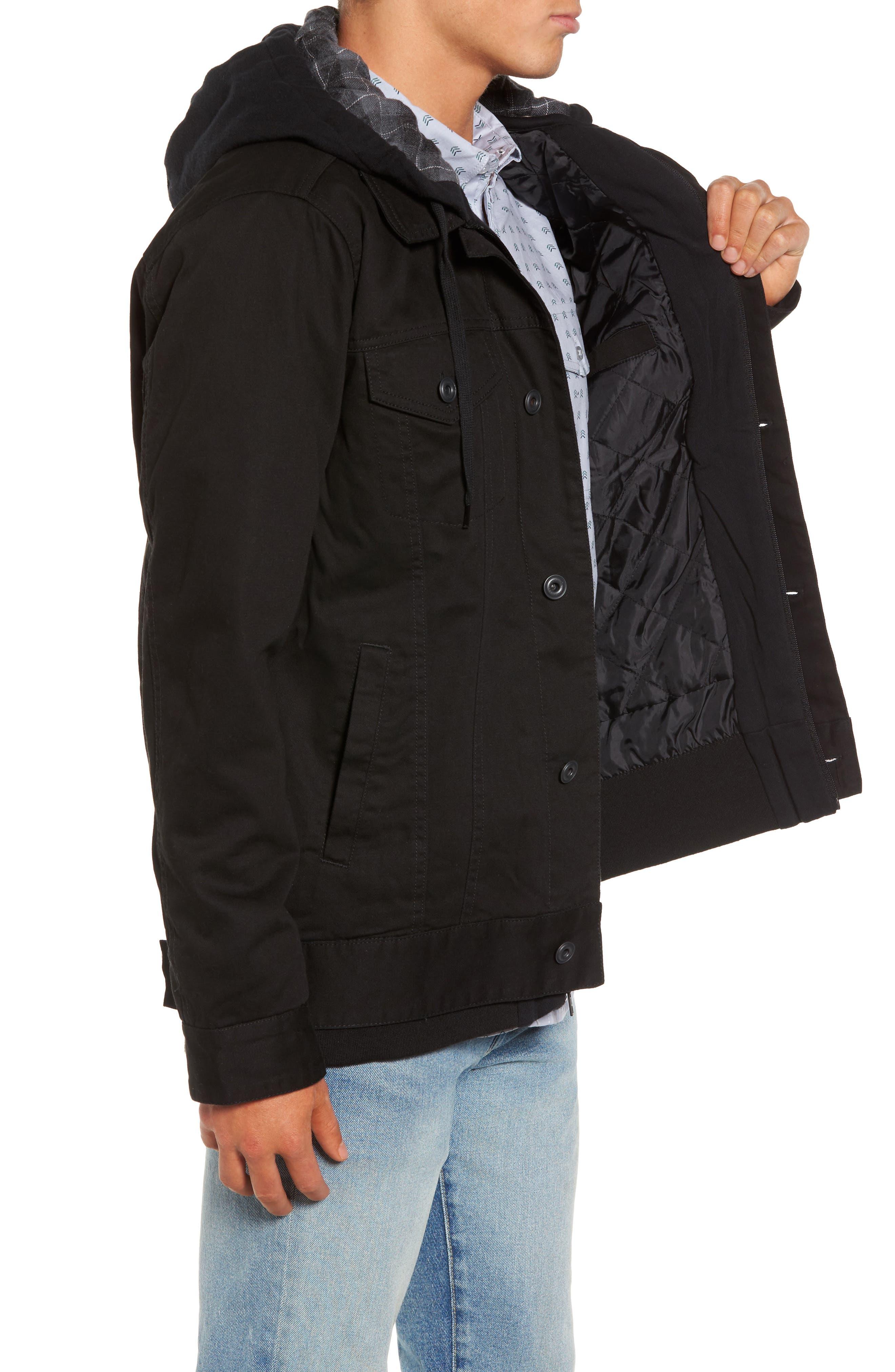 Alternate Image 3  - Hurley Mac Trucker 3.0 Hooded Jacket