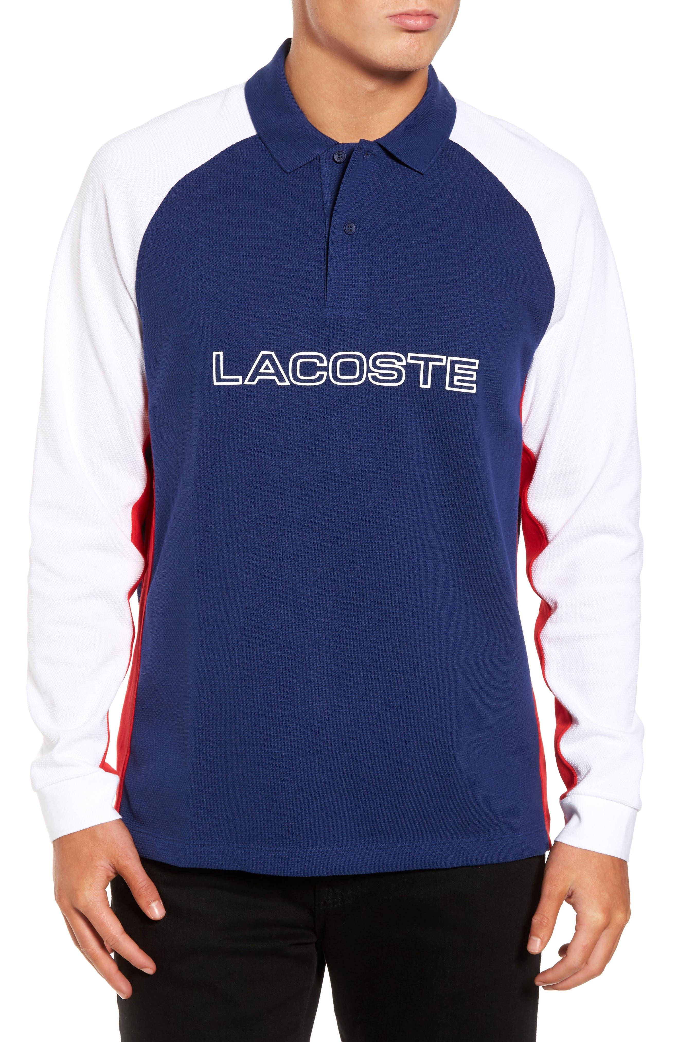 Lacoste Heavyweight Piqué Graphic Polo